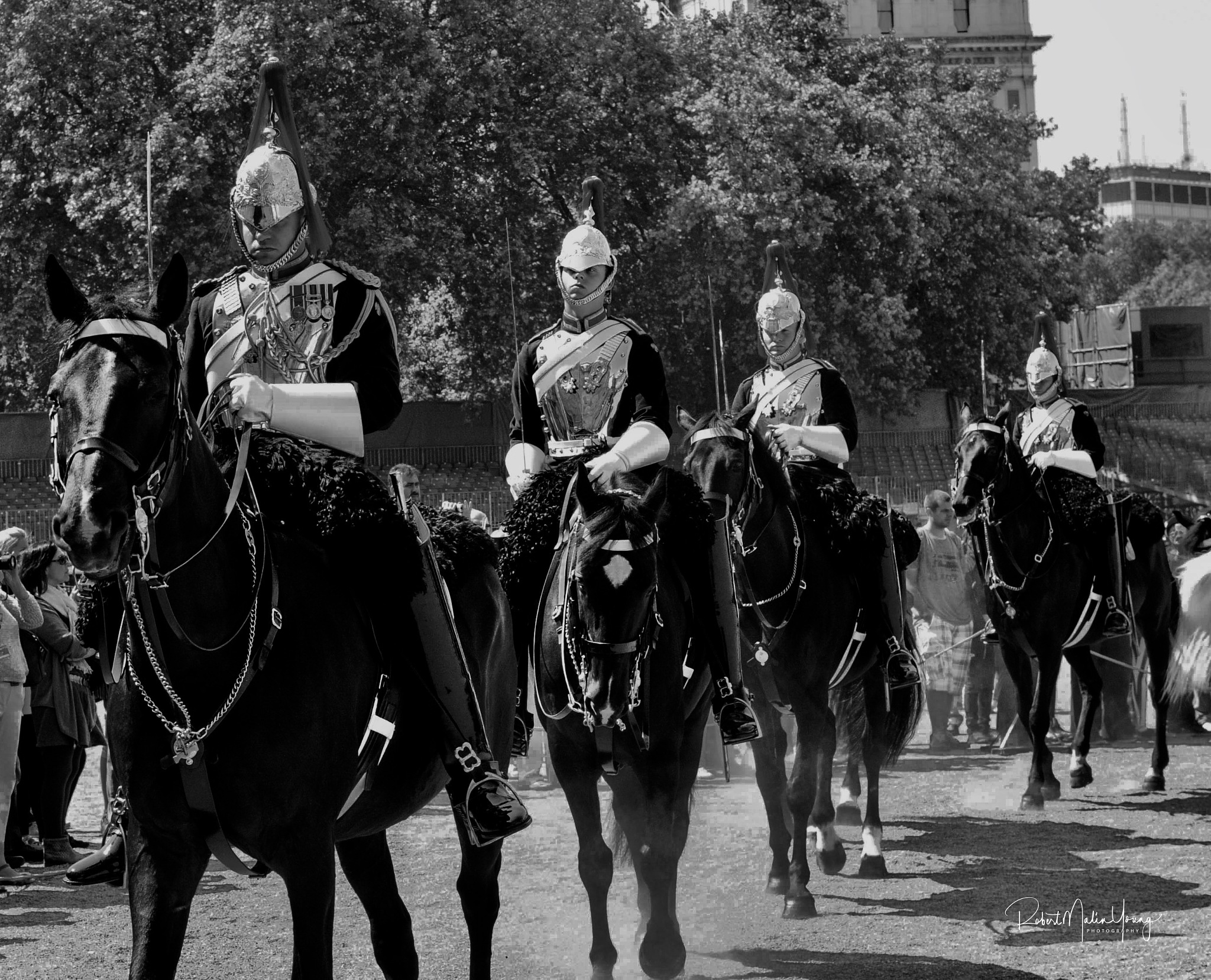 Horse Guards - London 2018 by Robert Malin Young