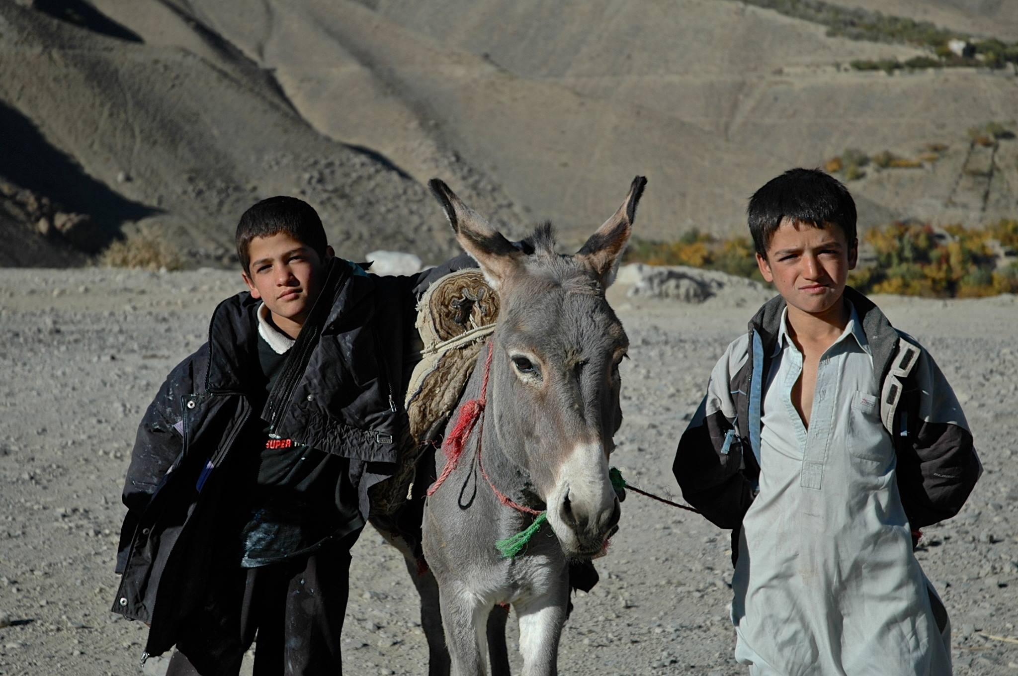 Panjir Valley, Afghanistan 2007 by Robert Malin Young