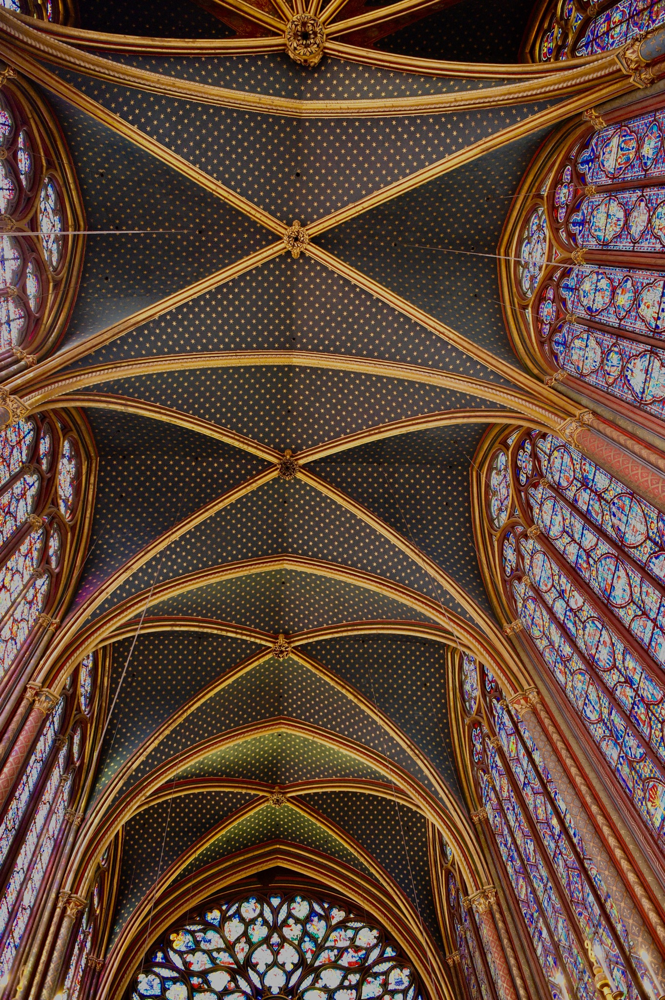 Once again to the incredible Saint Chapelle, Paris 2018 by Robert Malin Young