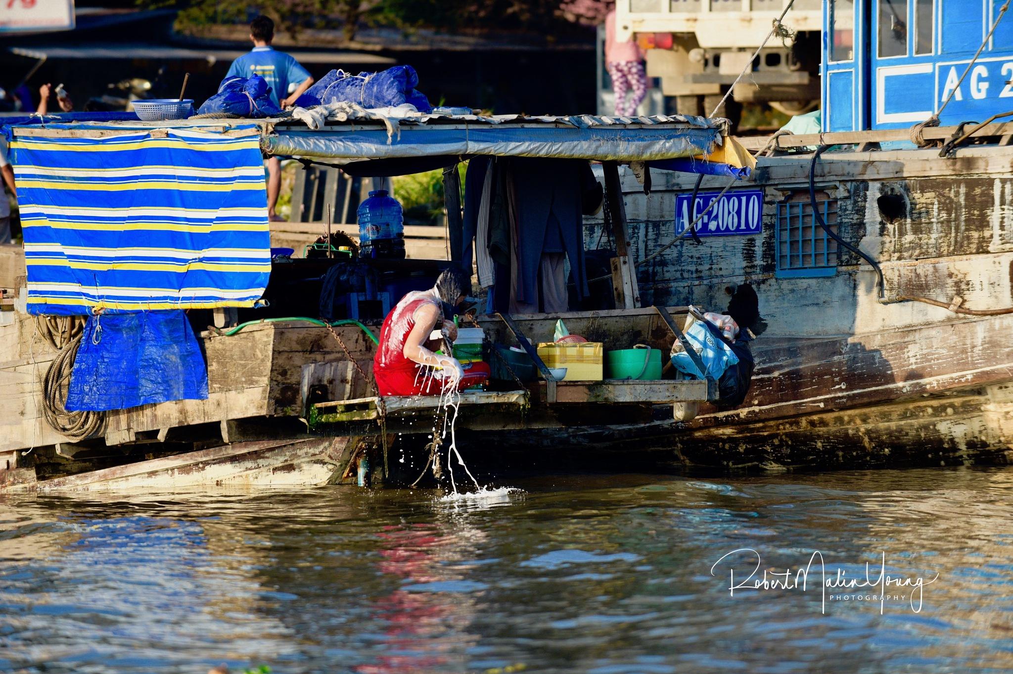 Up the Mekong - Viet Nam 2018 by Robert Malin Young