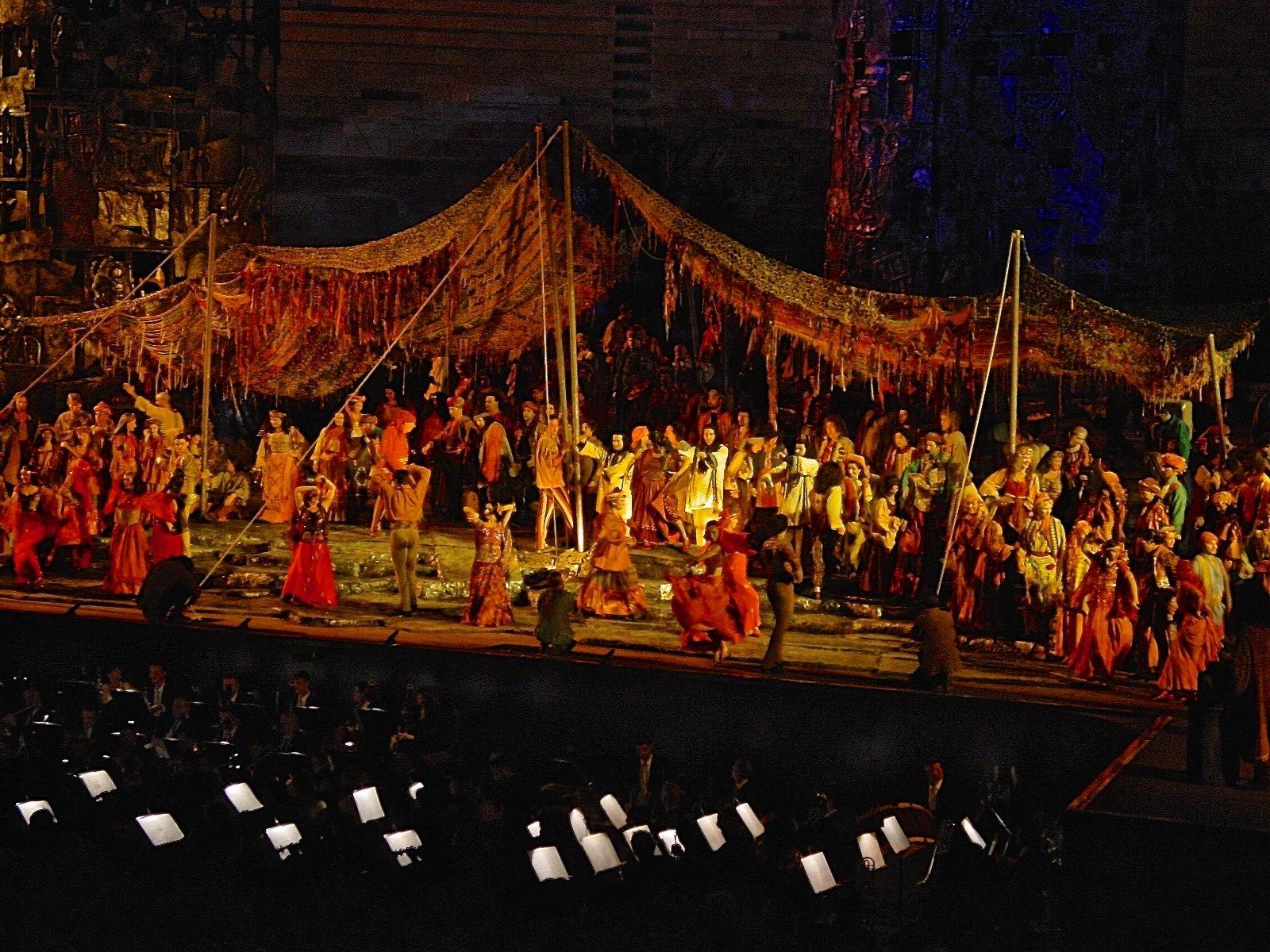 L' Arena Opera - Rigoletto, Verona 2018 by Robert Malin Young