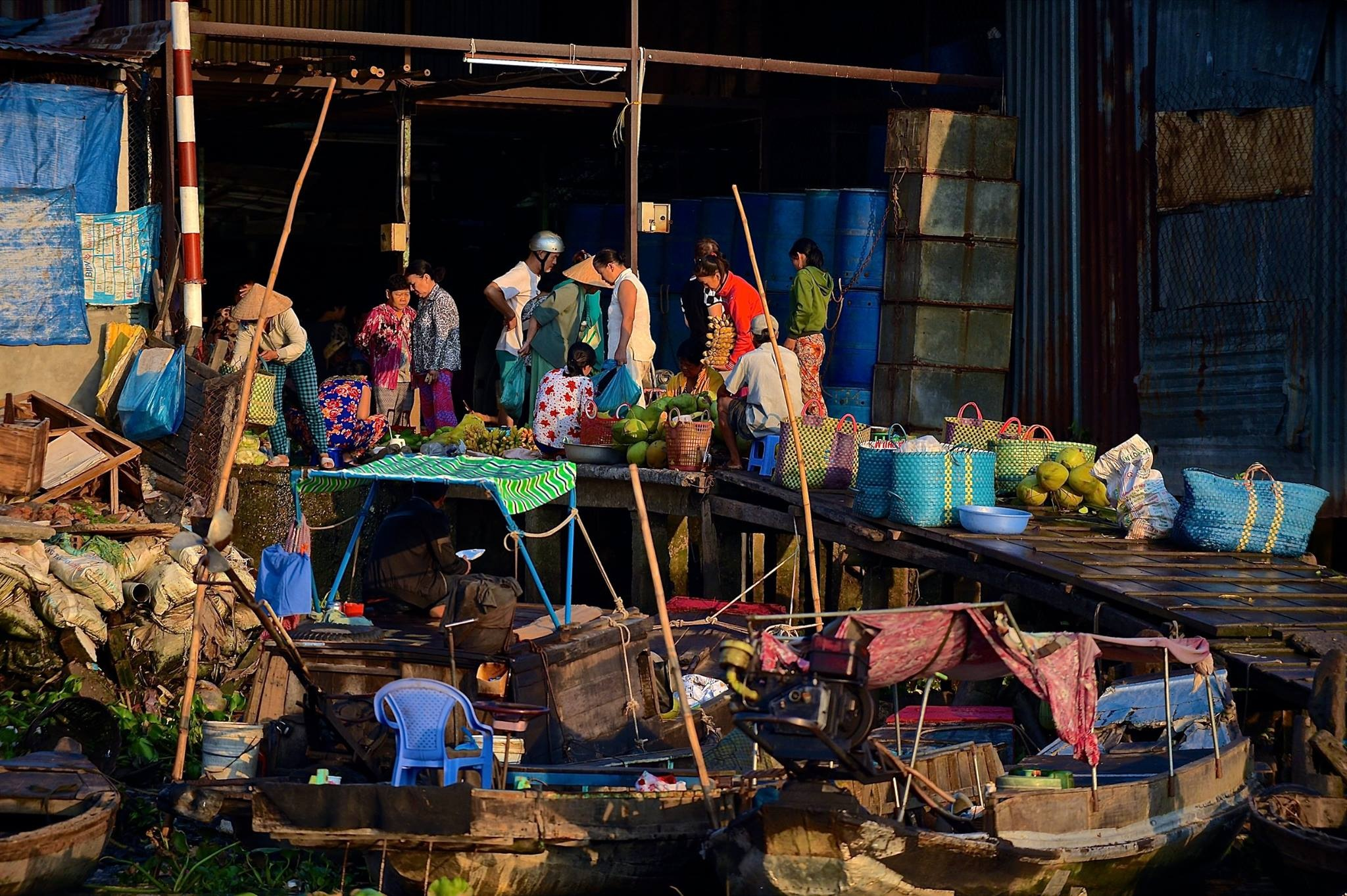 "Viet Nam - ""Up the Mekong"" 2018 by Robert Malin Young"