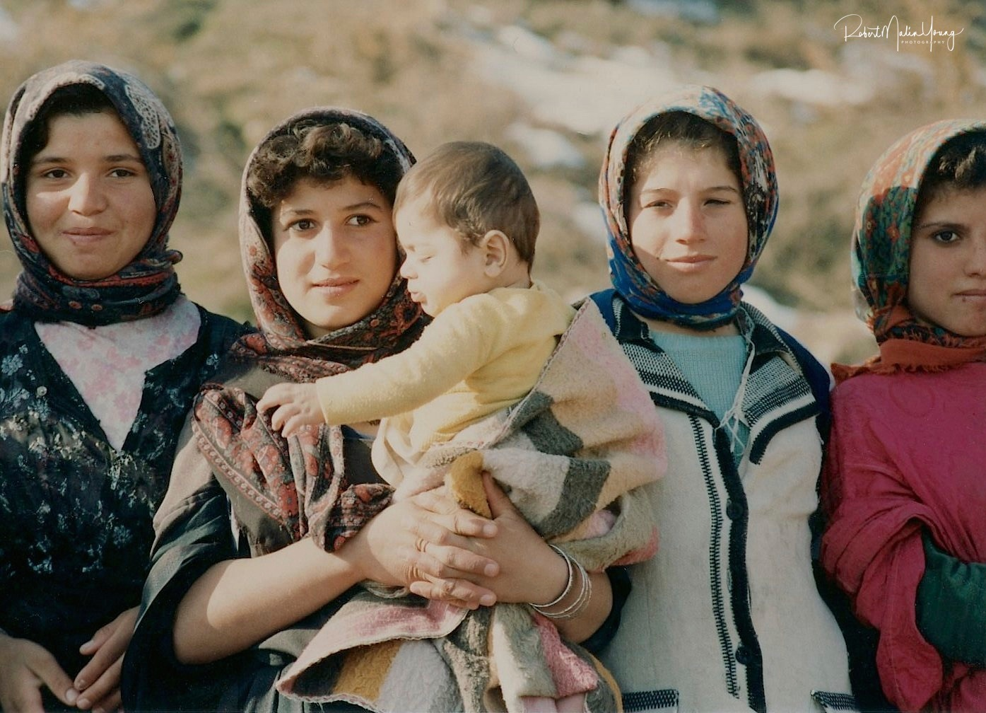 Kurdish children and Kurdistan, Iraq1992 by Robert Malin Young
