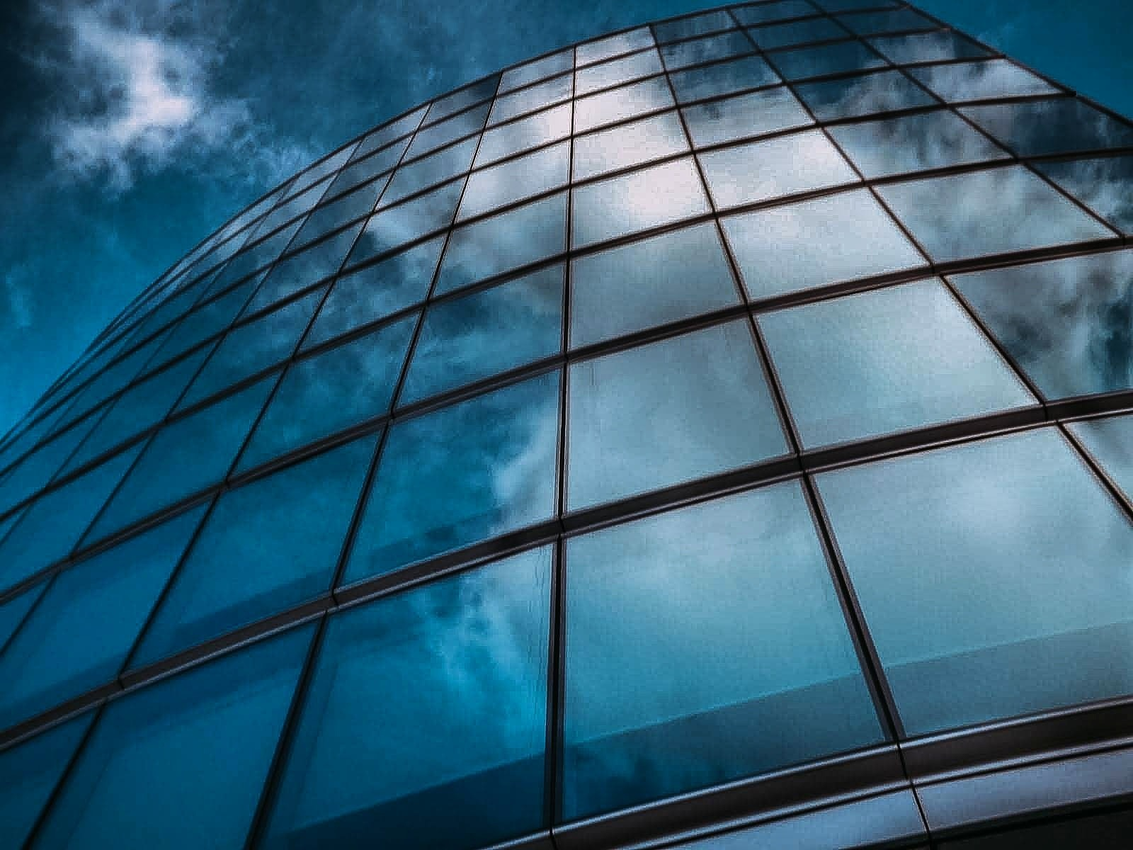 skyscraper reflection  by Pawel M