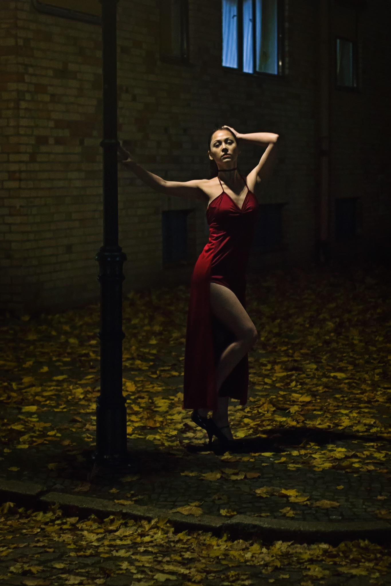 Lantern Lady by Arno Bauermeister