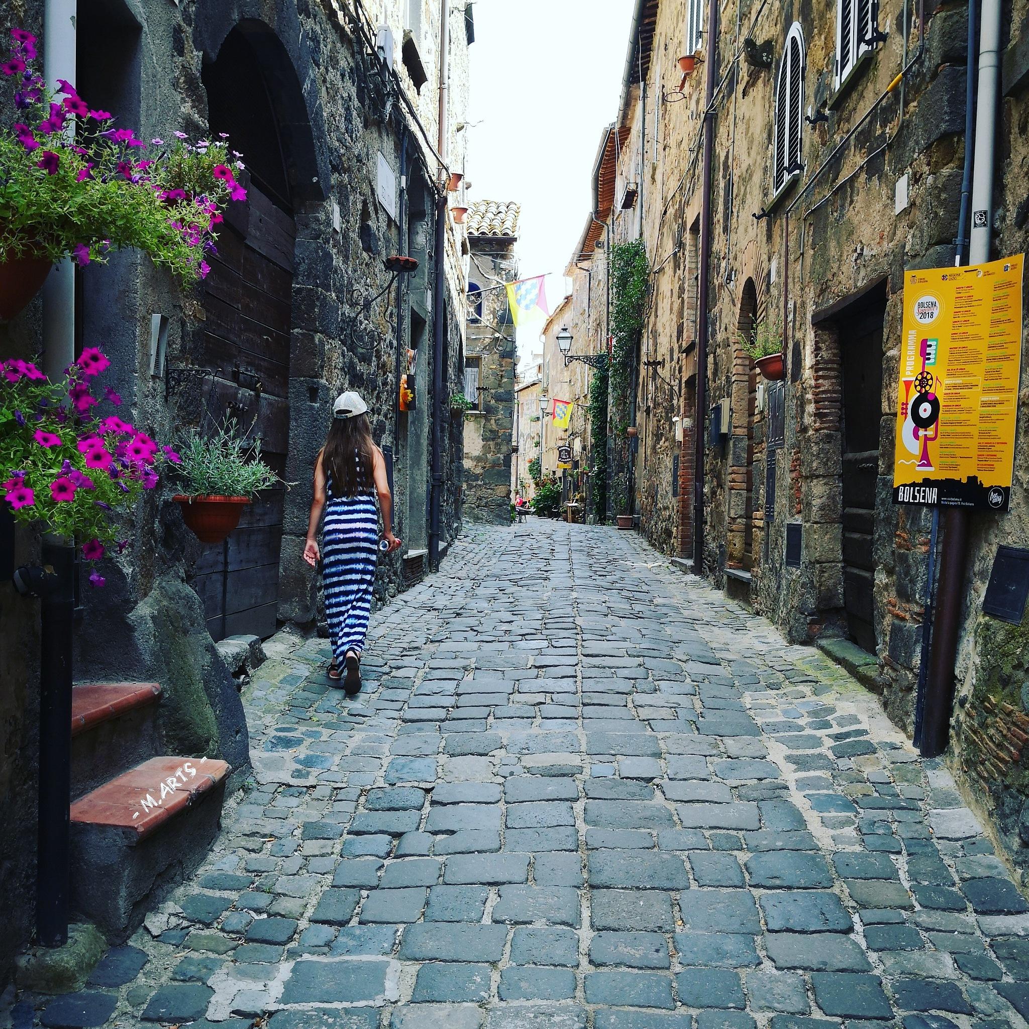 Italian streets  by Melanie Sieling