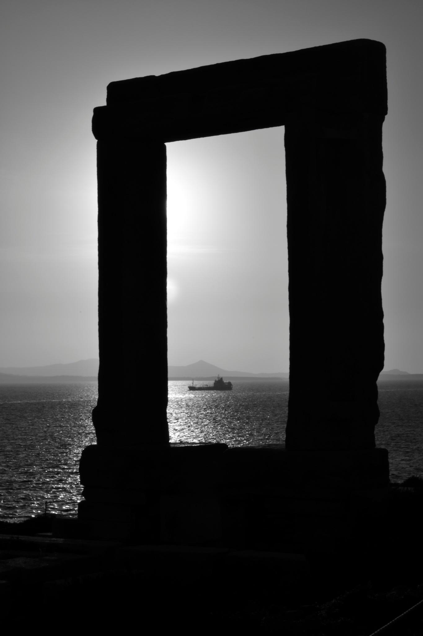 Portara by Maria Sereti