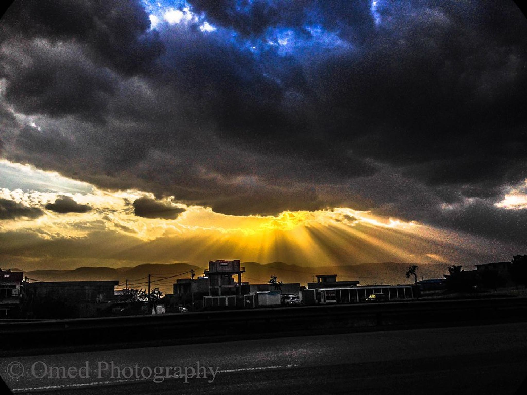 Sunset of Sulaymaniyah  by Omed Ismail