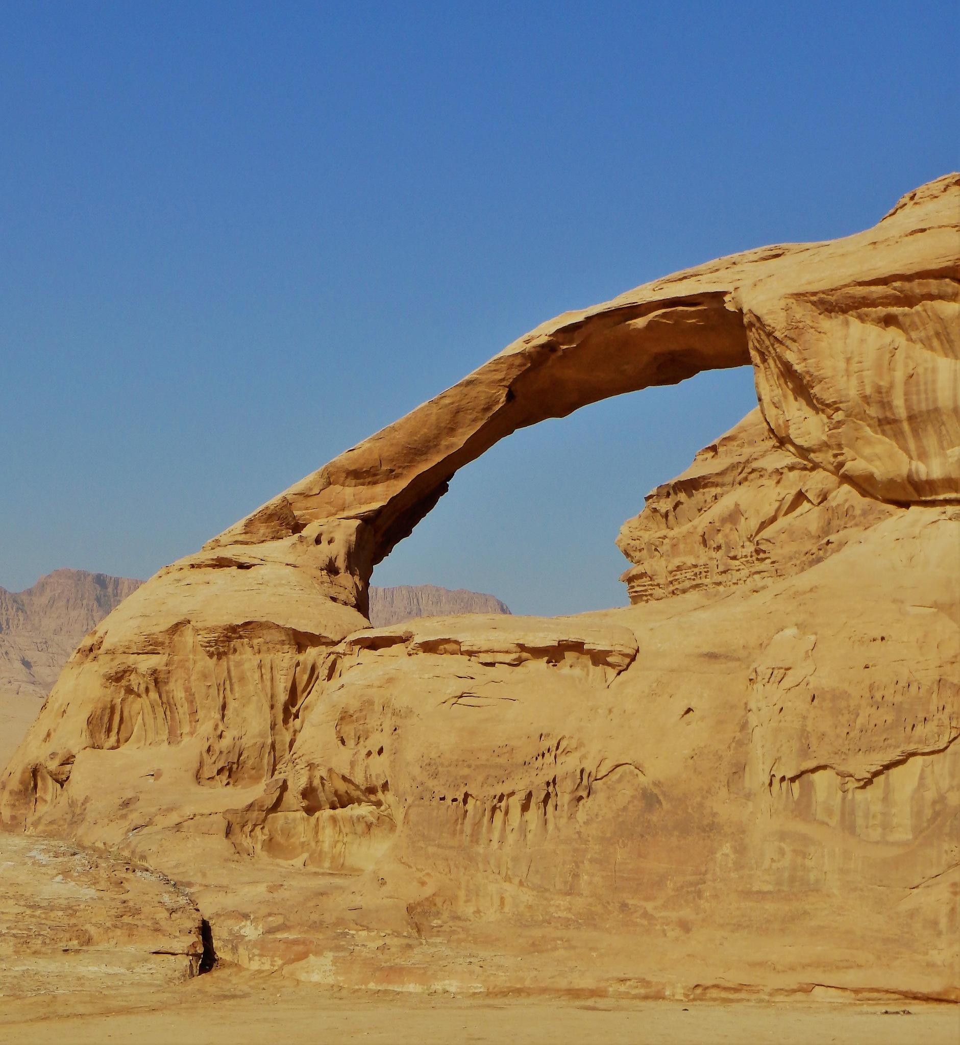 Wadi Rum Arch by Kate Paris