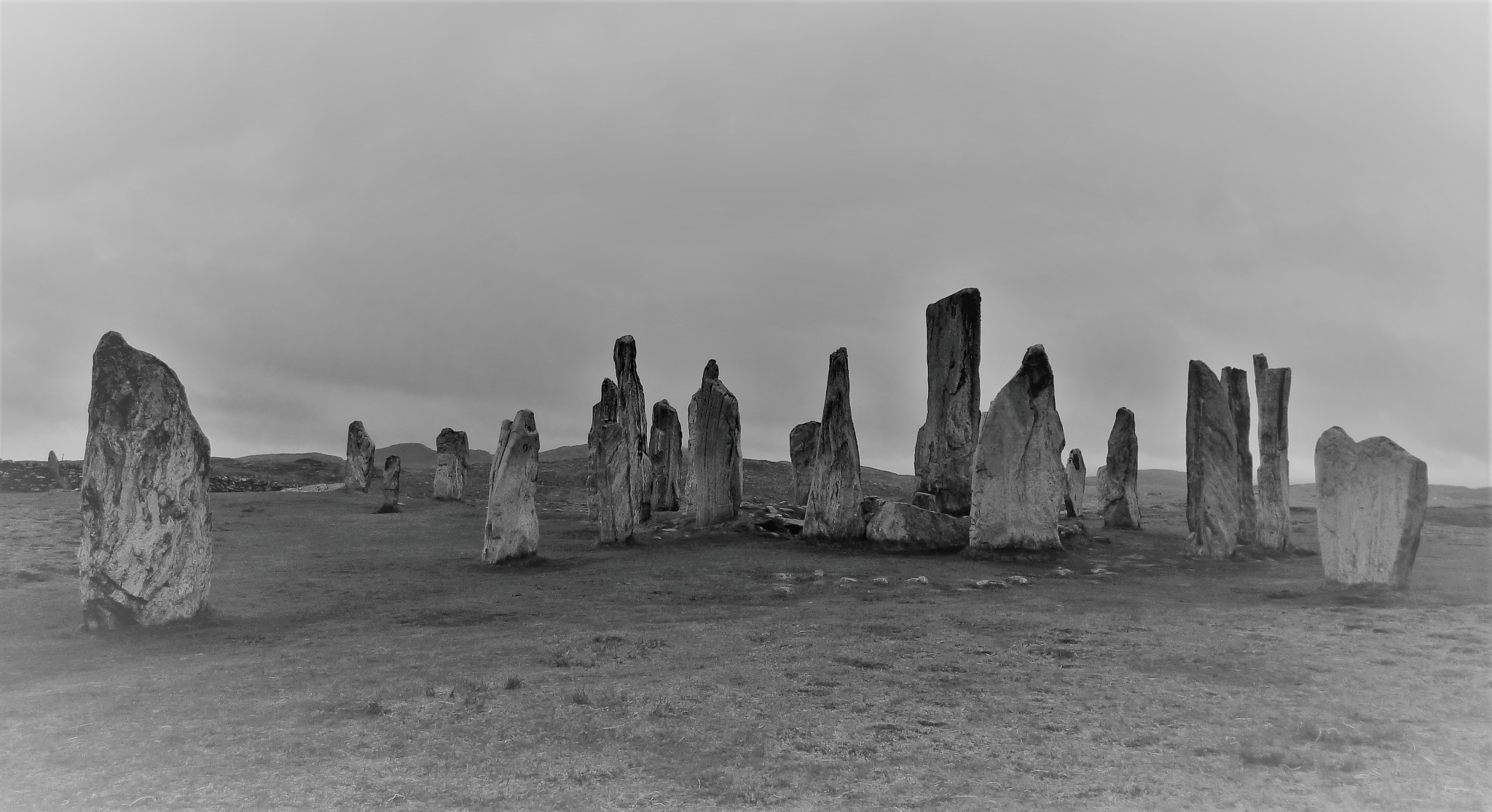 Scottish Standing Stones by Kate Paris