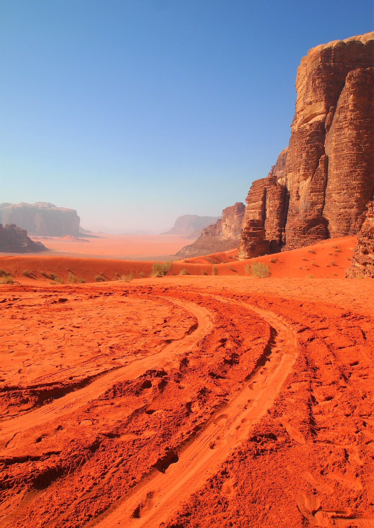 On the road on Mars by Kate Paris