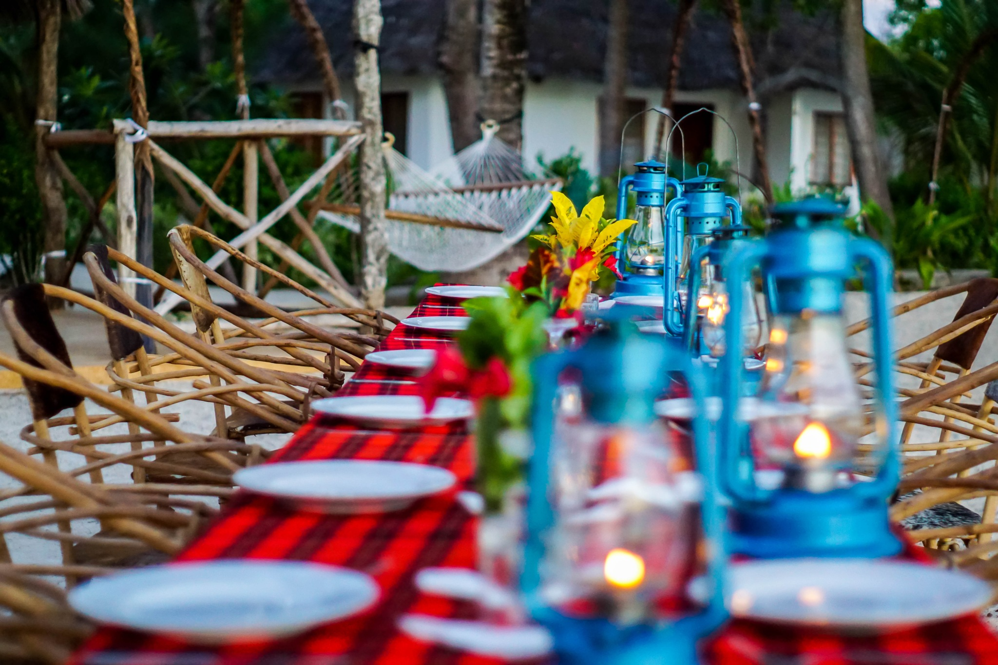 Open air Dinner  by Christof