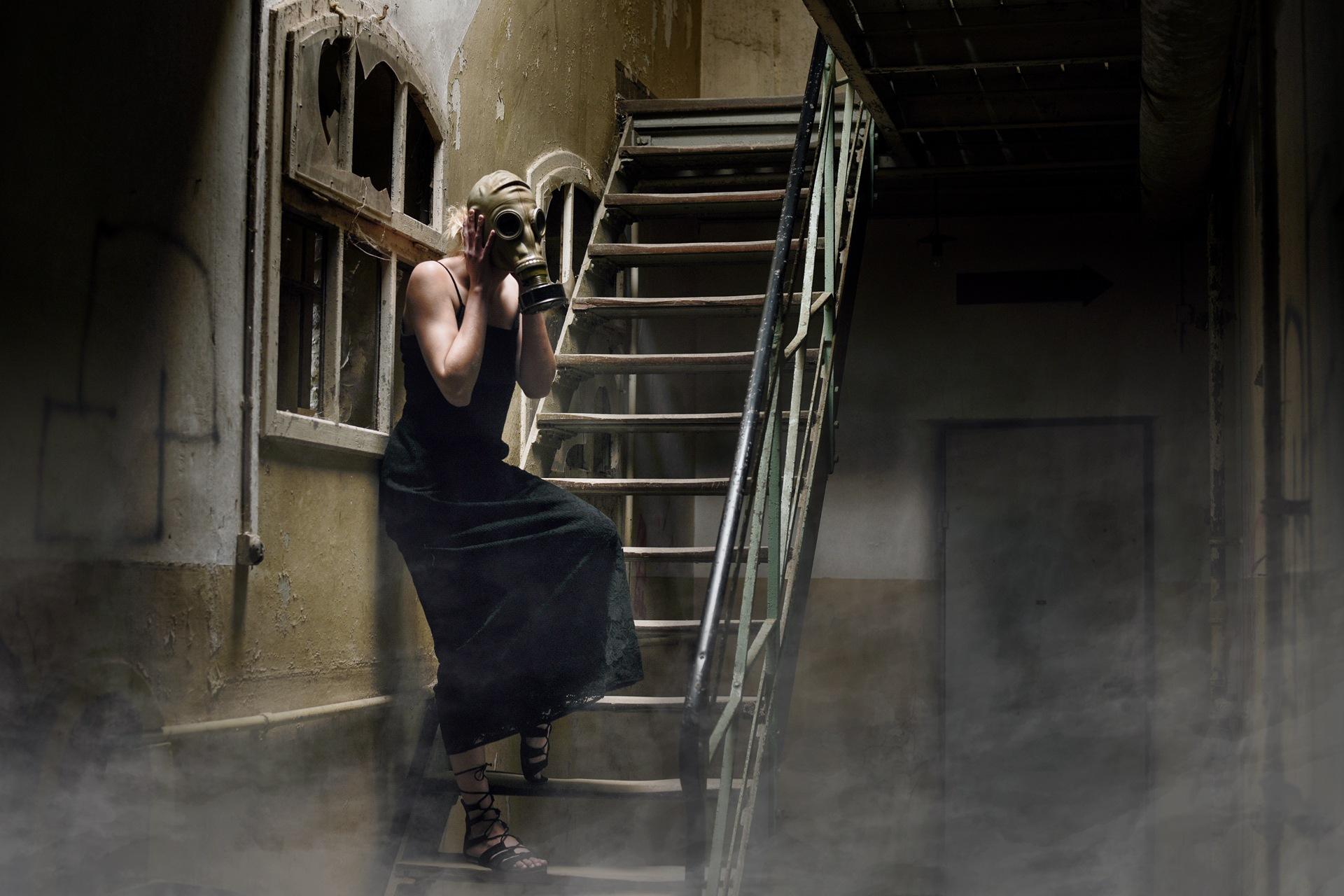 Masked Stairs by kimovitzkk