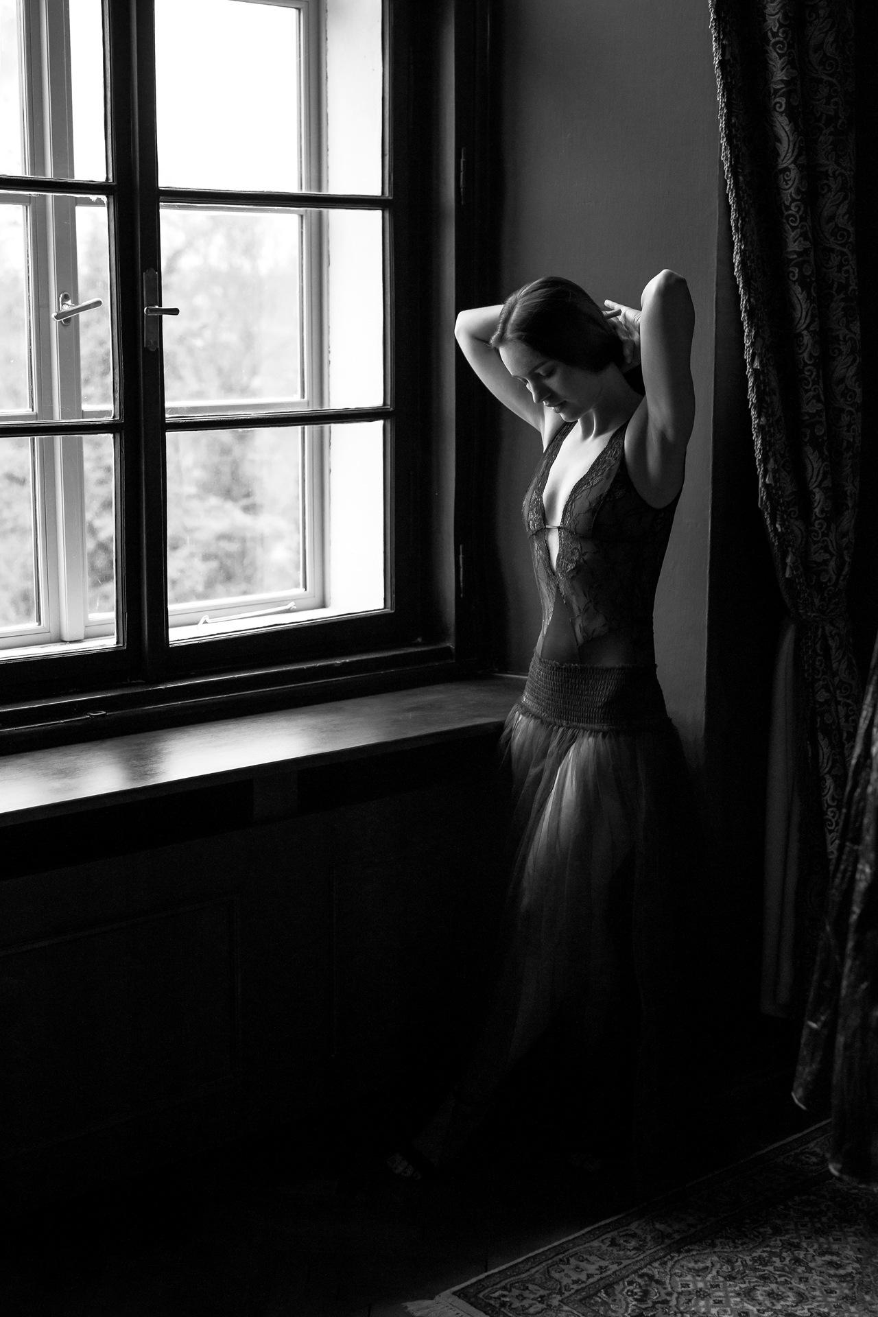 Figure by the Window by kimovitzkk