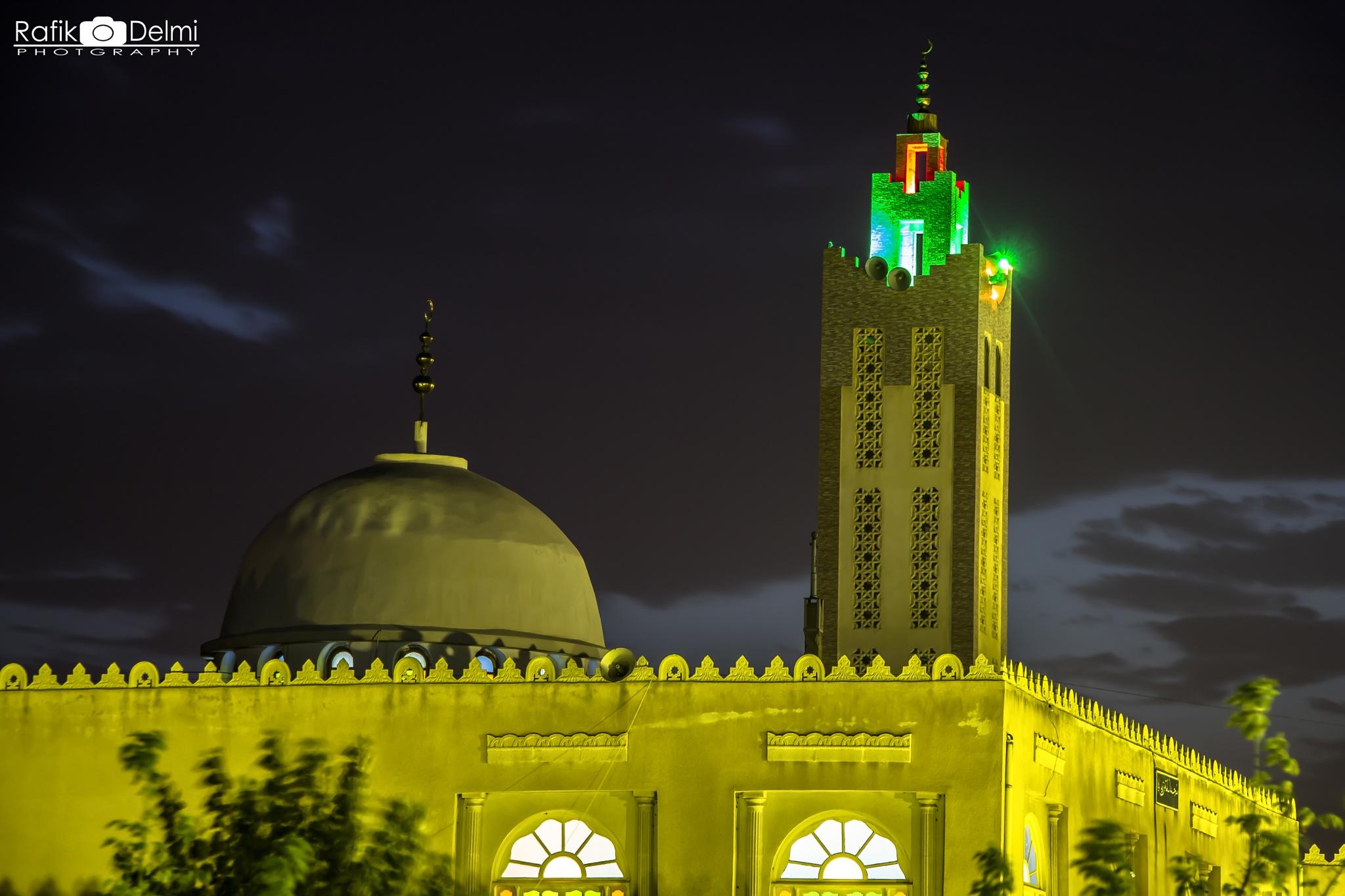 Oussama Bnou zayd Masdjid by Rafik Delmi