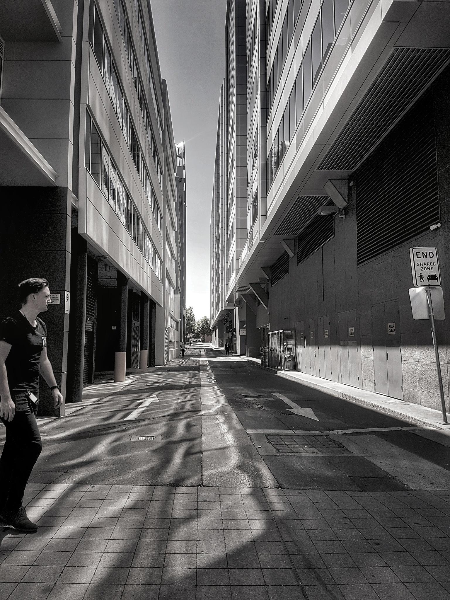Through the Gap by Tom