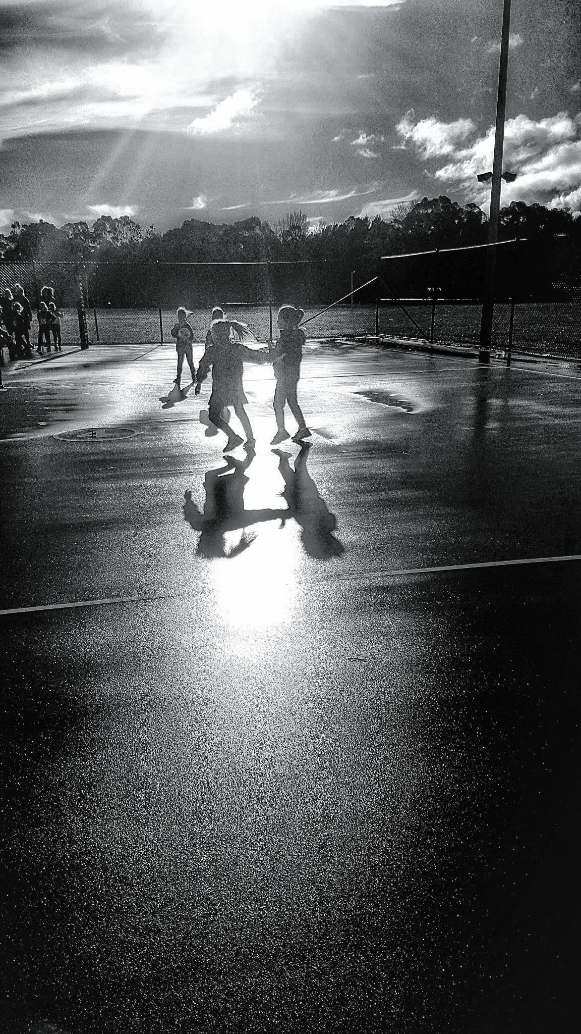 Kids Netball by Tom