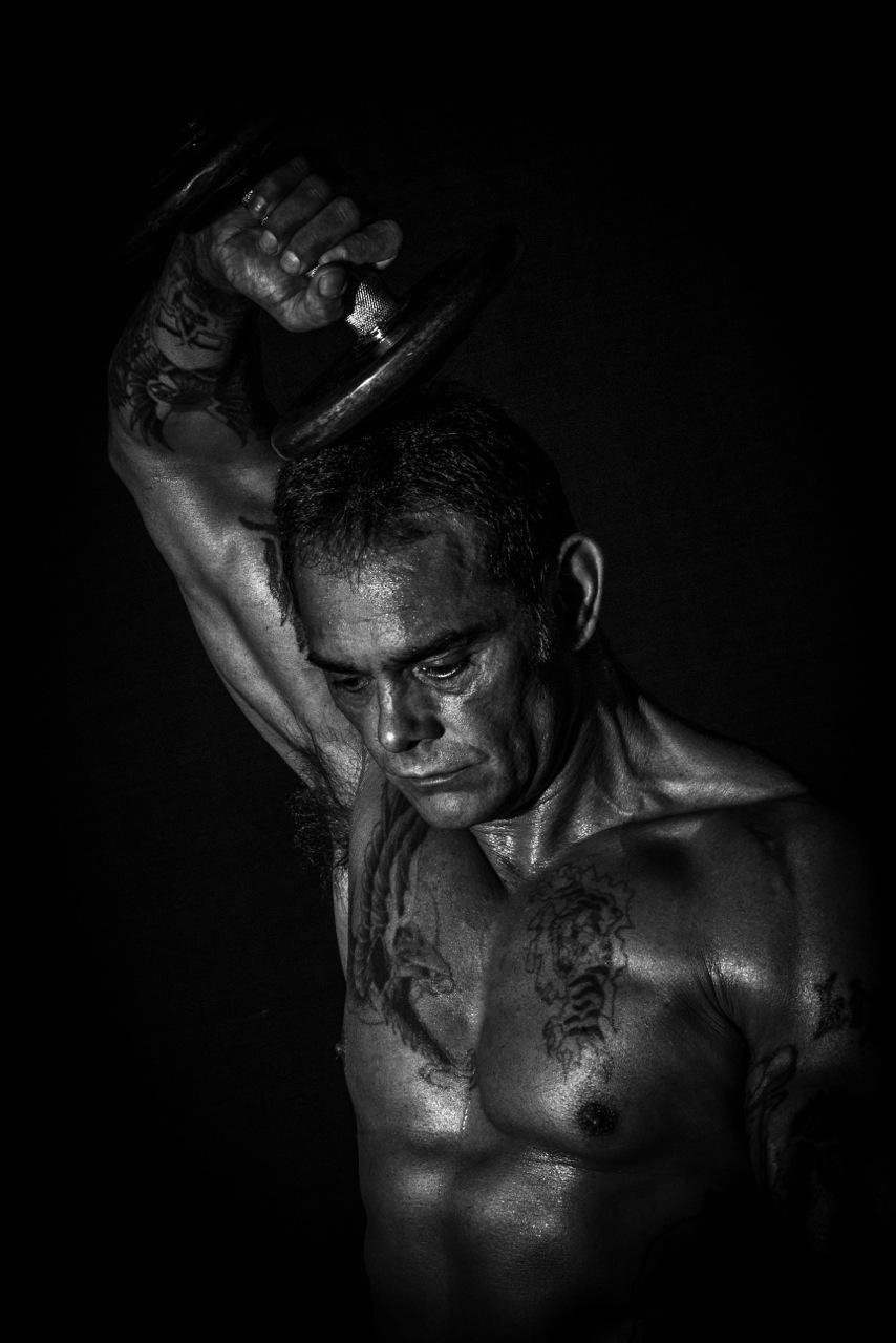 Bodybuilder by Steven Vallis