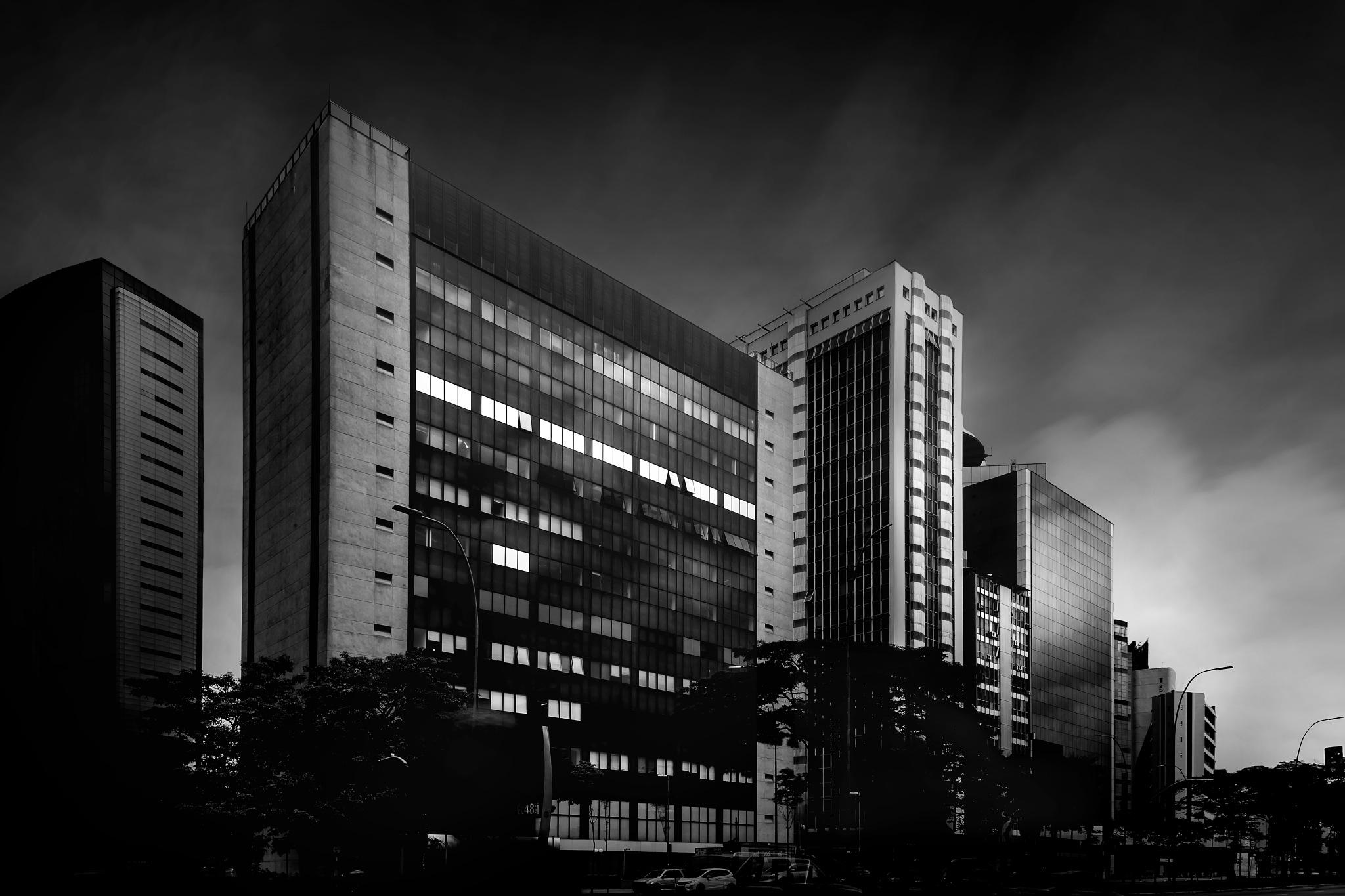 Big city by Erike Fusiki
