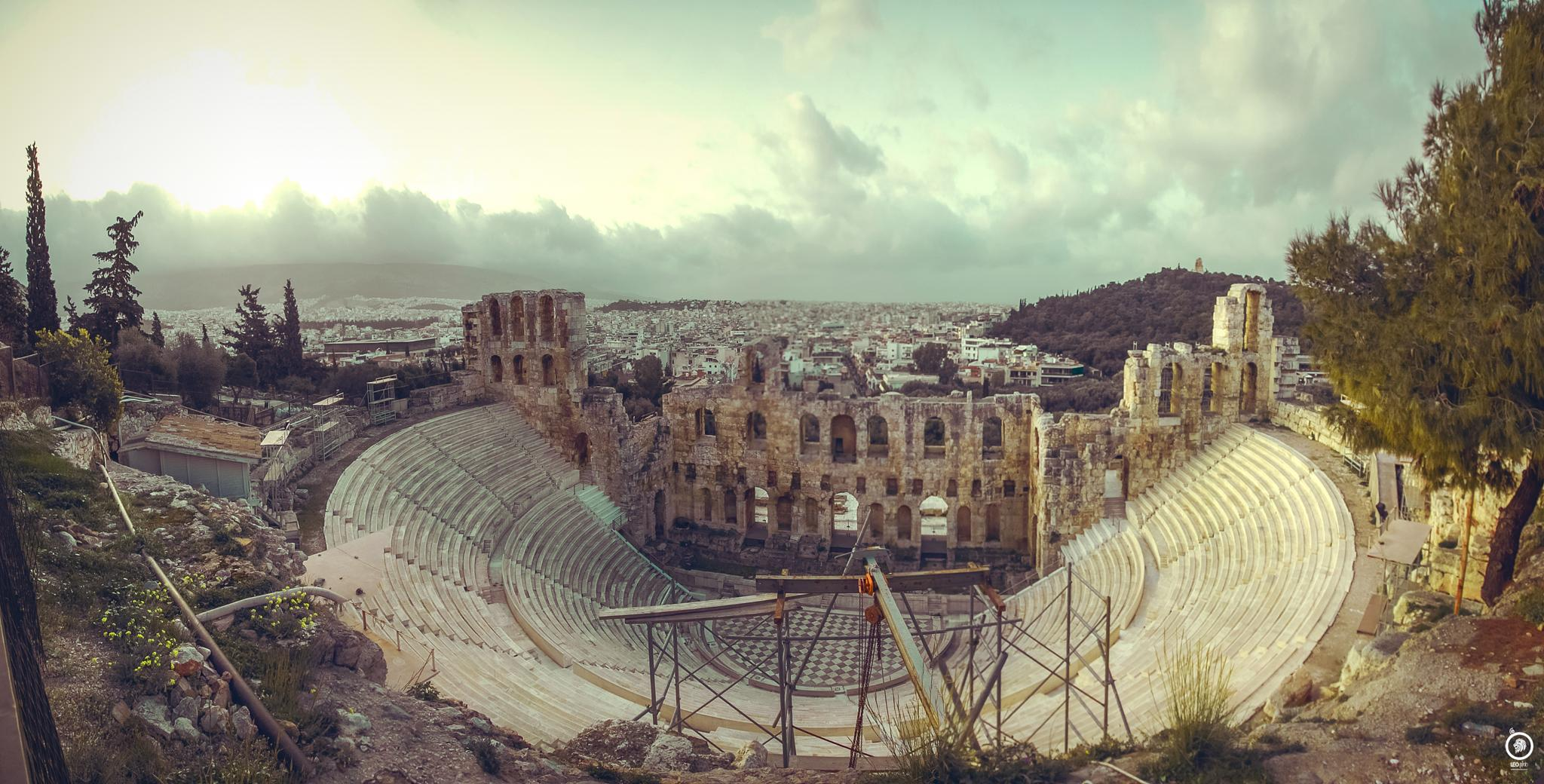 Odeon of Herodes Atticus by Leo Photography