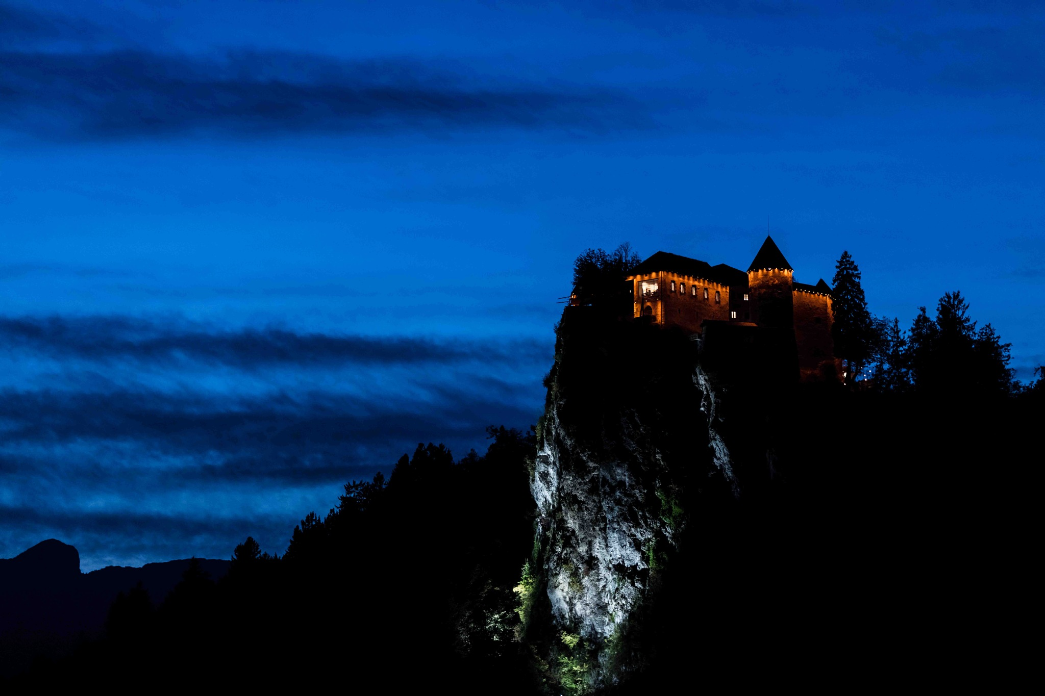 The Castle On The Hill by Vikas Datta