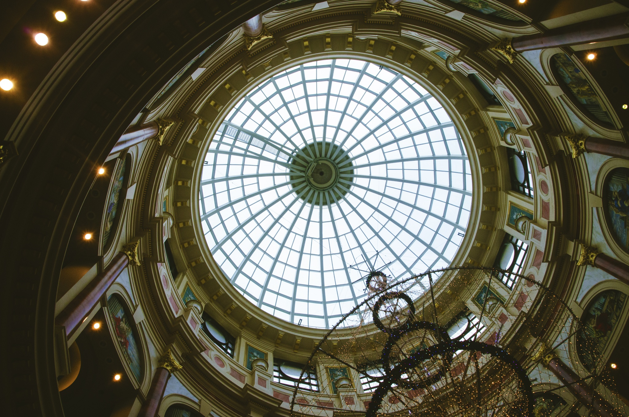 Trafford Ceiling  by Black Hat Photography