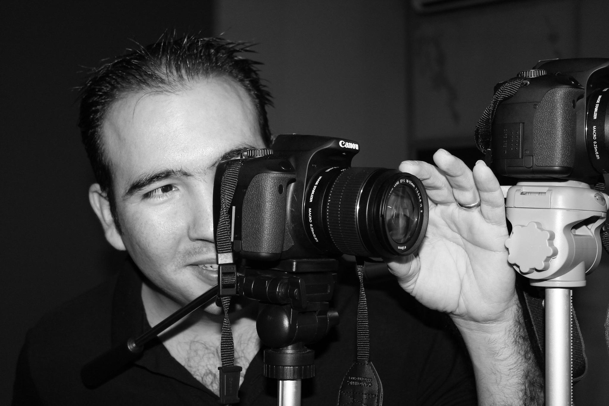 camera man by Paul Alvarez