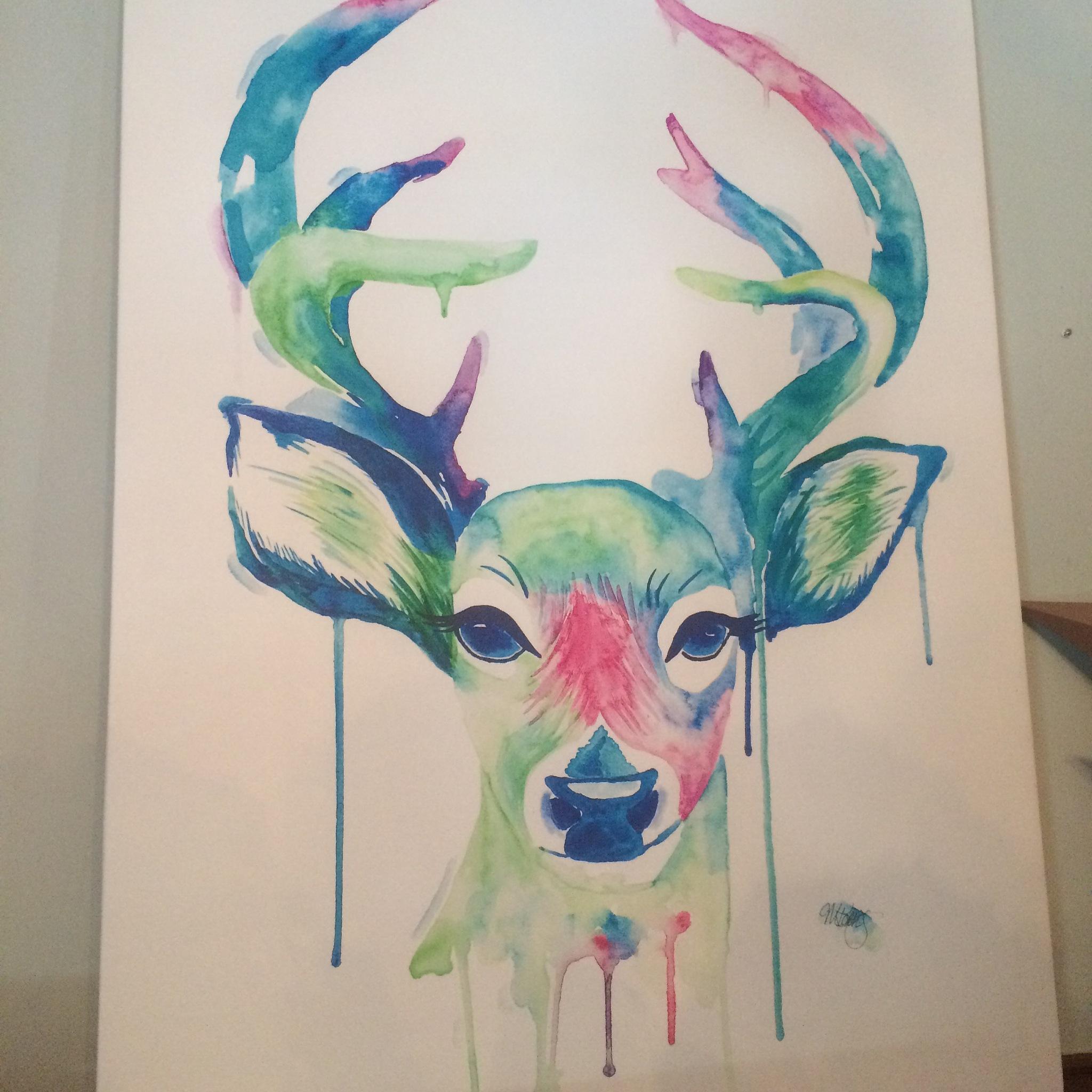 Deer by Sheryl Delorme