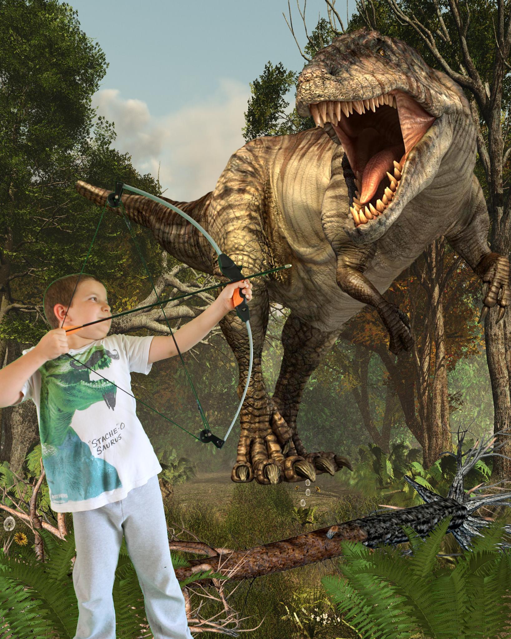 Dino hunter 2 by Annette Olsen