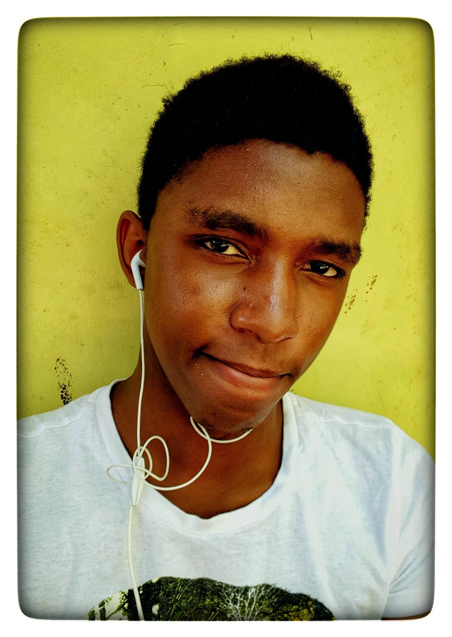 Self-portrait by Kelvin Ziro