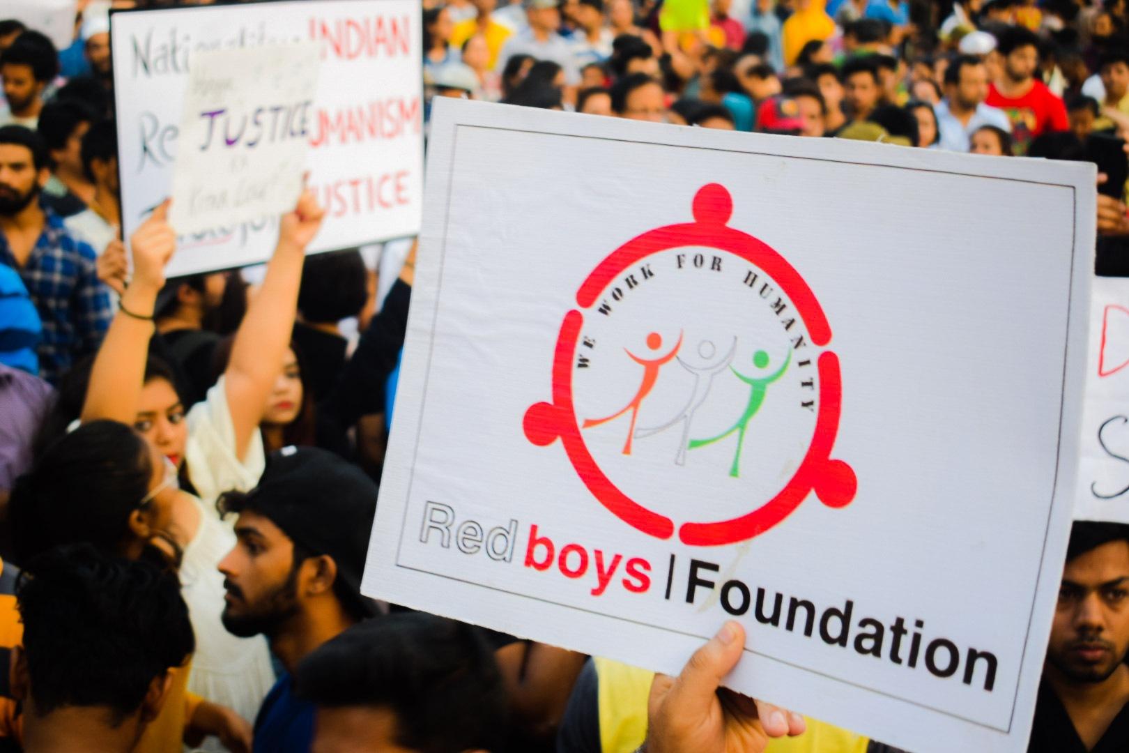 Red Boys Foundation logo by Shahnawaz Moosa Shaikh