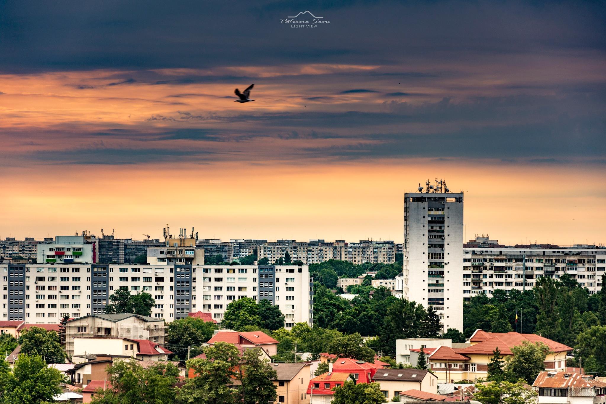 Sunrise in Bucharest! by Patricia Savu