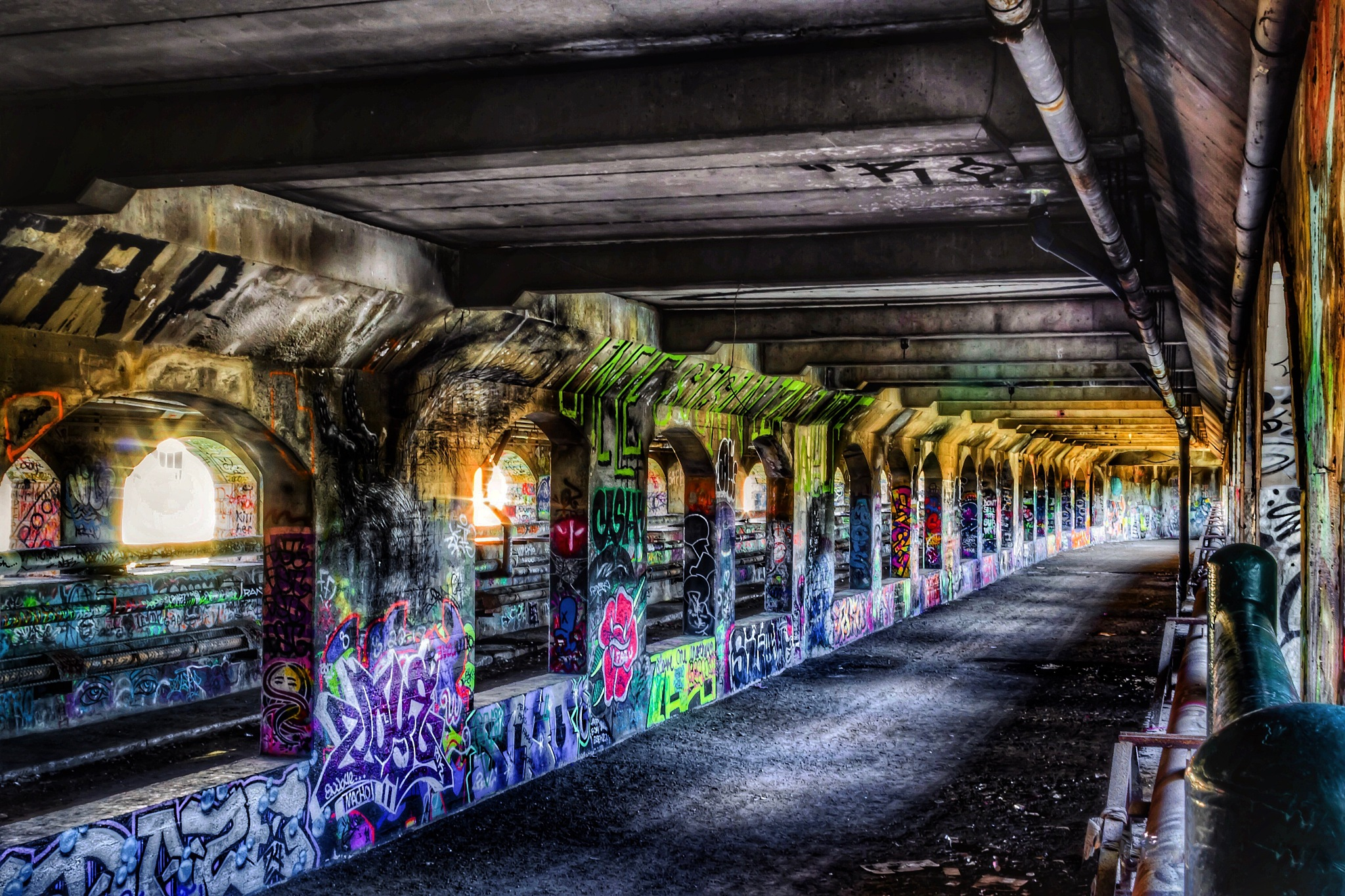 Abandoned Subway by Robert Eichas