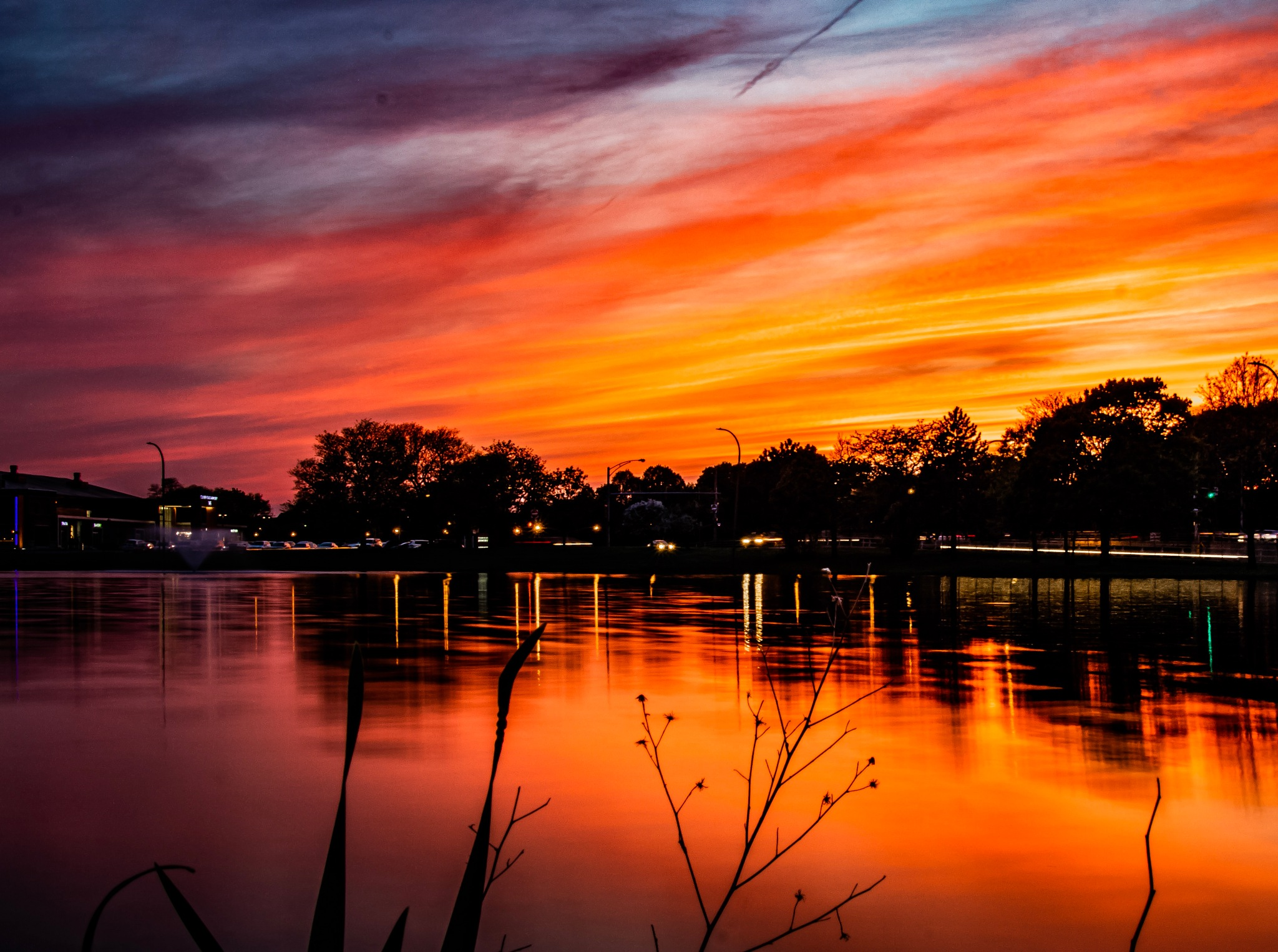 Just a sunset by Robert Eichas