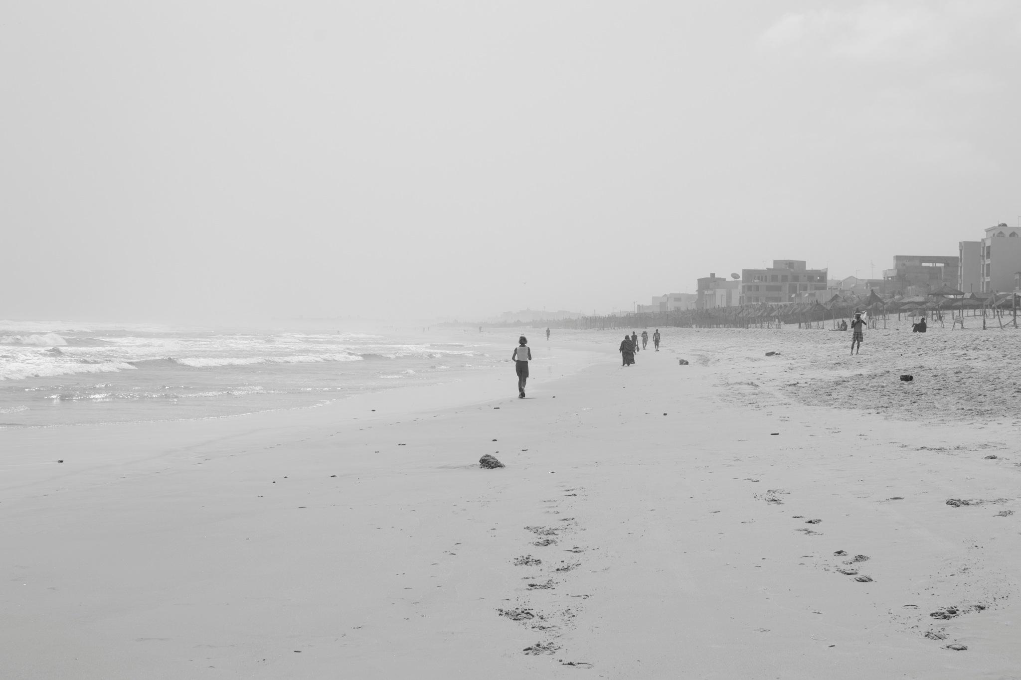 On a senegalese beach by miid0u