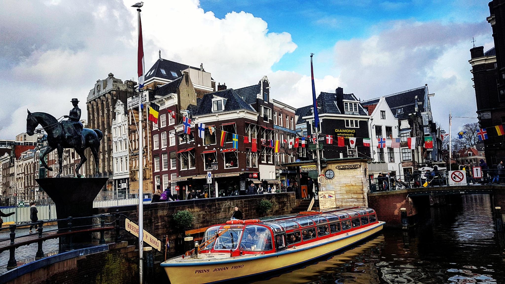 Amsterdam baby!  by Magdalena Jozić