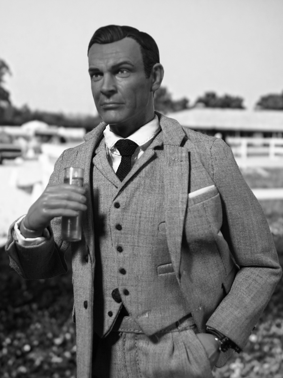 Welcome to Auric Stud, Mr. Bond! by Phil Dyner