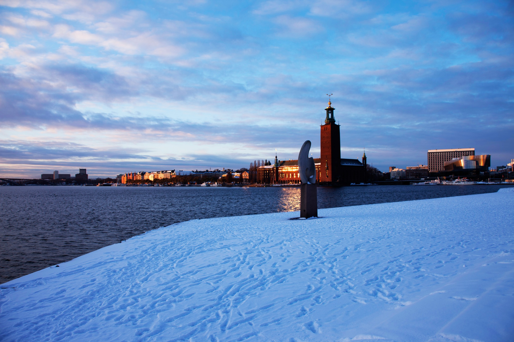 STockholm in the winter by Grace Olsson
