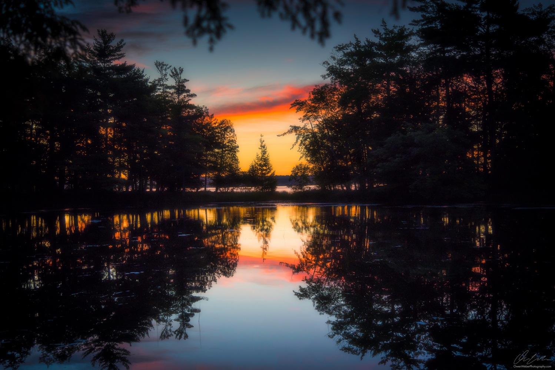 Morning Glow On Lost Lake by Owen Weber