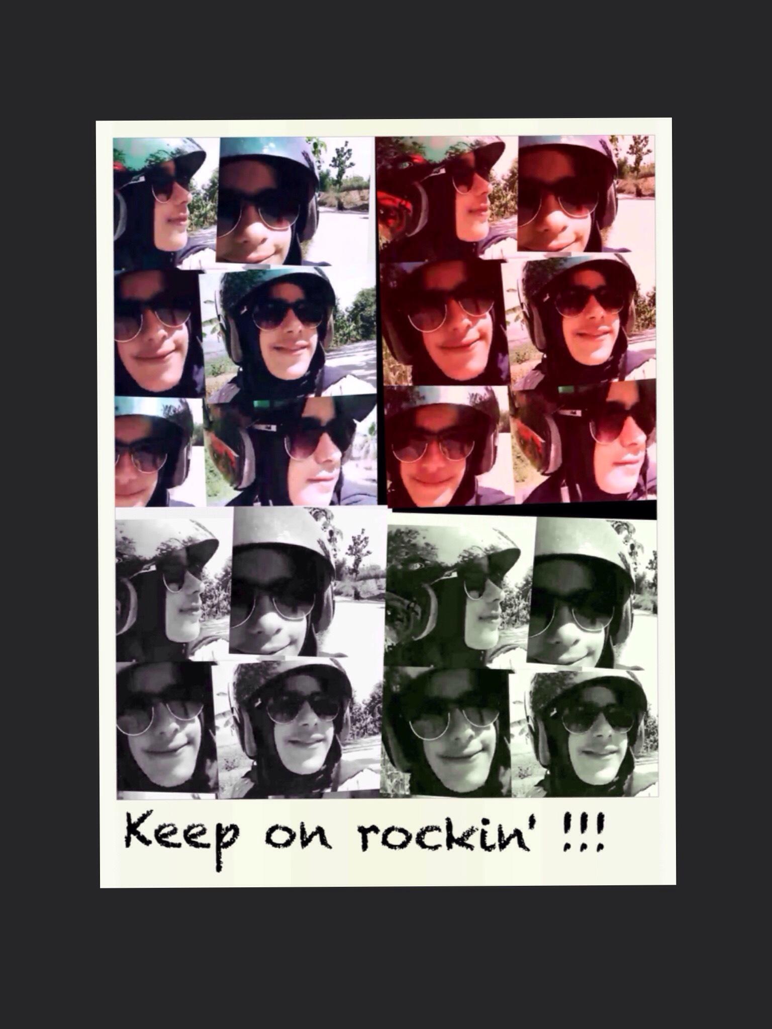 Keep on rocking !!! by vivie13450