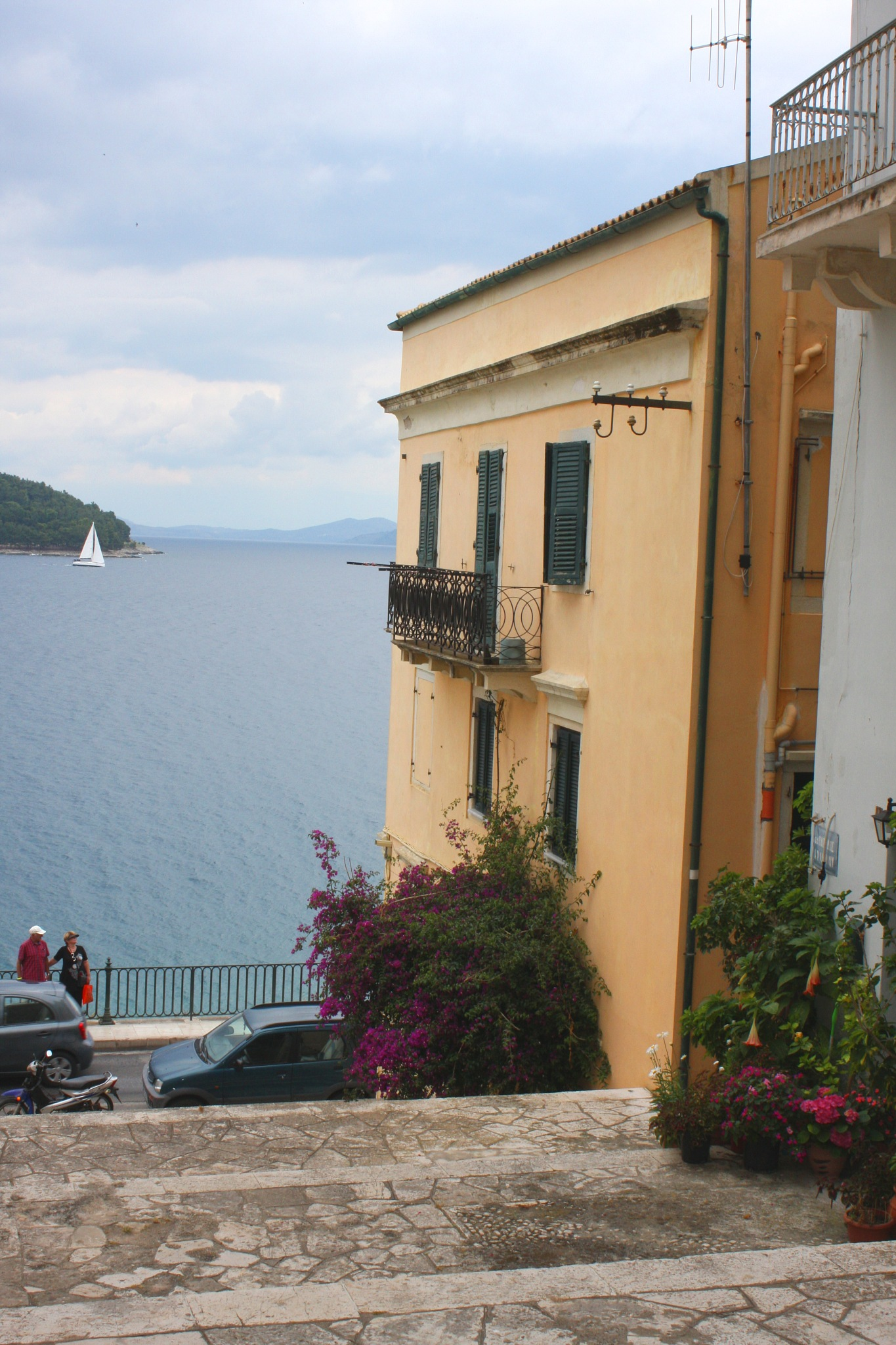 Corfu Town by Ddolfelin