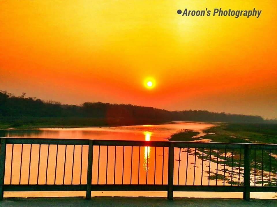 Sunset by Iaroon Barun