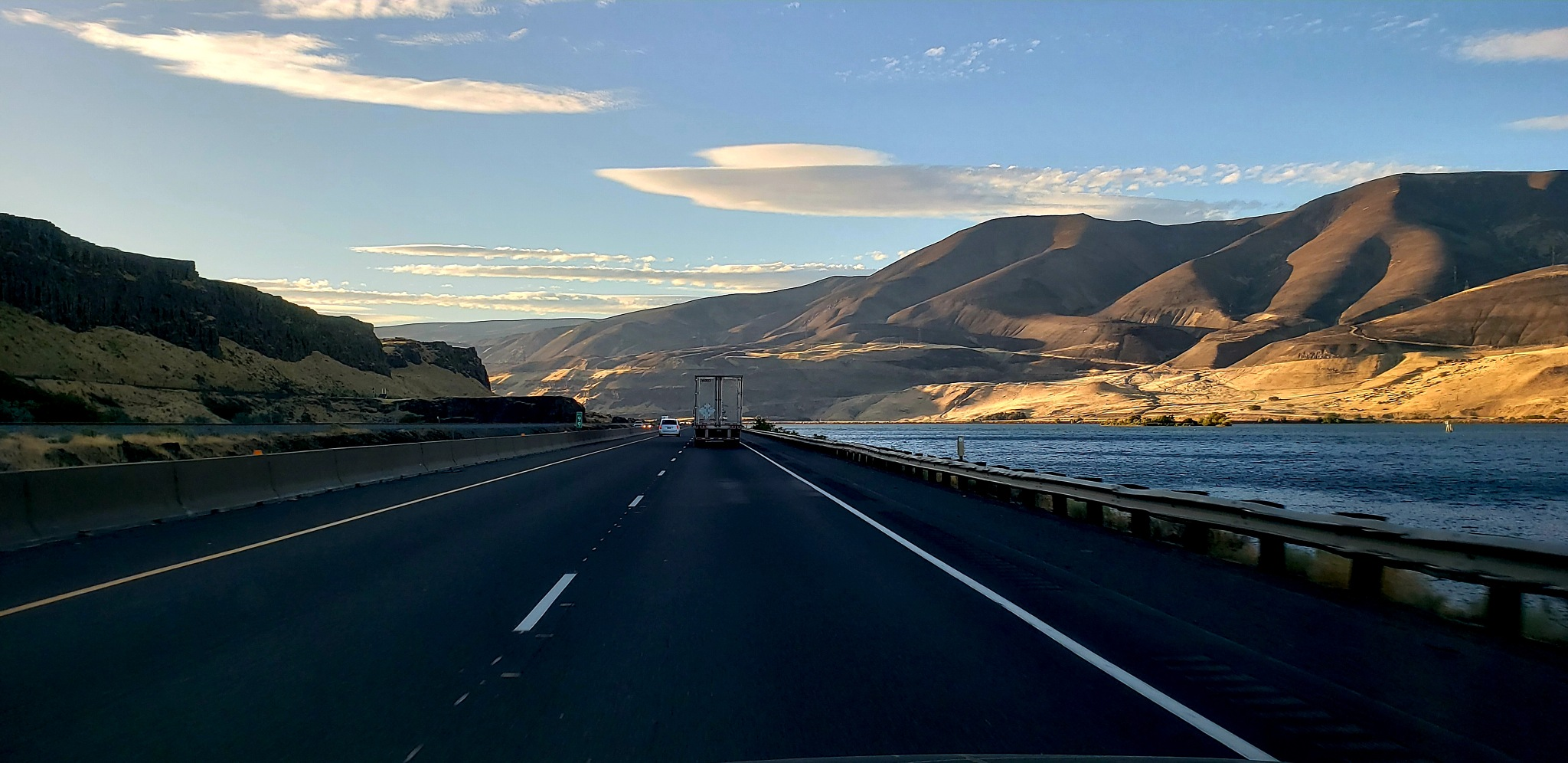 Driving down highway 84 to the dells Oregon beautiful Columbia river gorge by bluerocks1956
