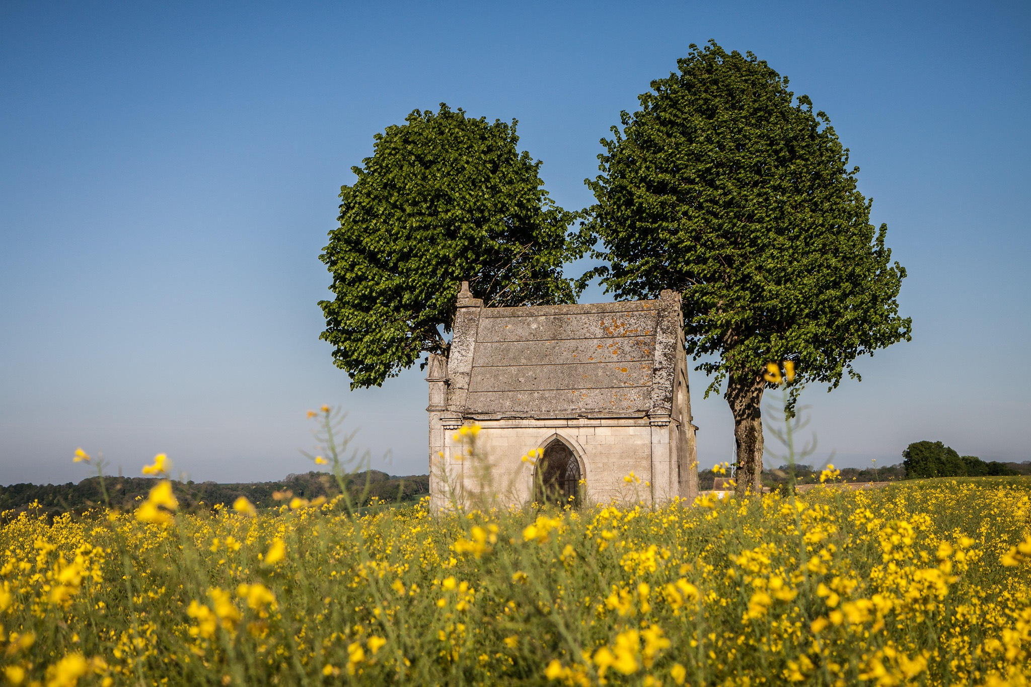 Small Chapel in north of France by Ouioui Ouiouiphoto