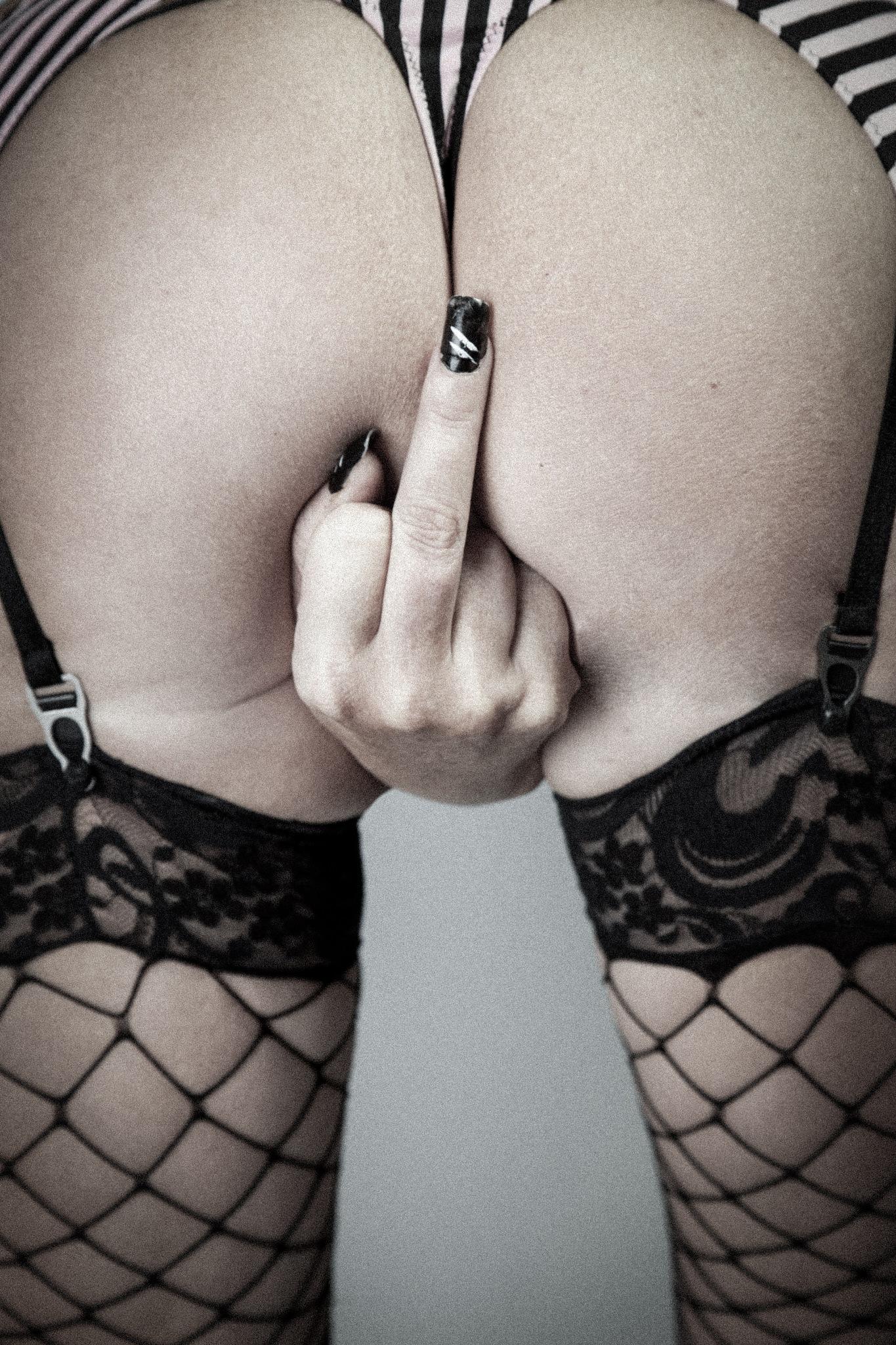 The finger.. by Martin Wennerstrøm