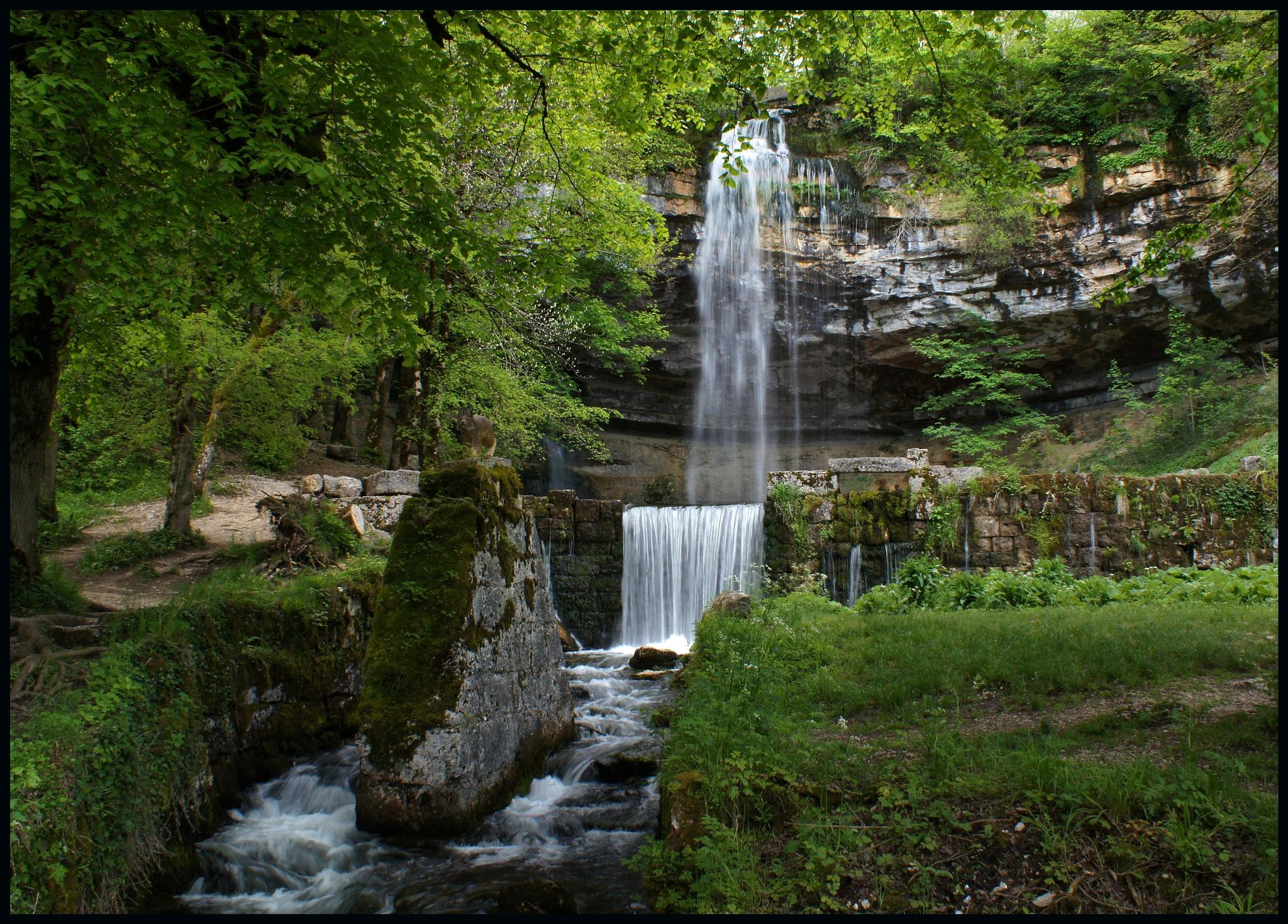 Saut Girard Falls by Marilyn Bielski