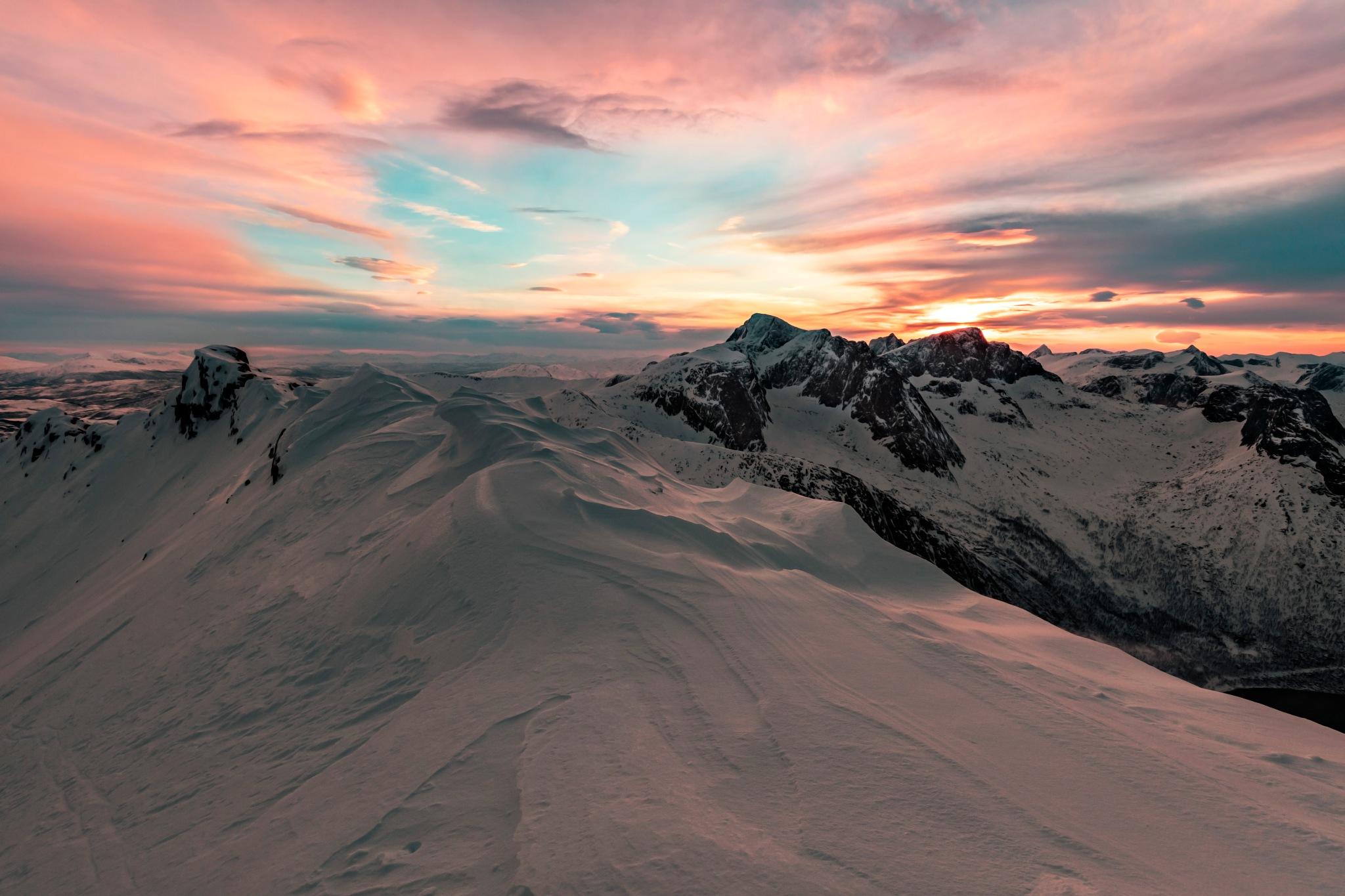 Photo in Landscape #senja #norway #hike #skiing