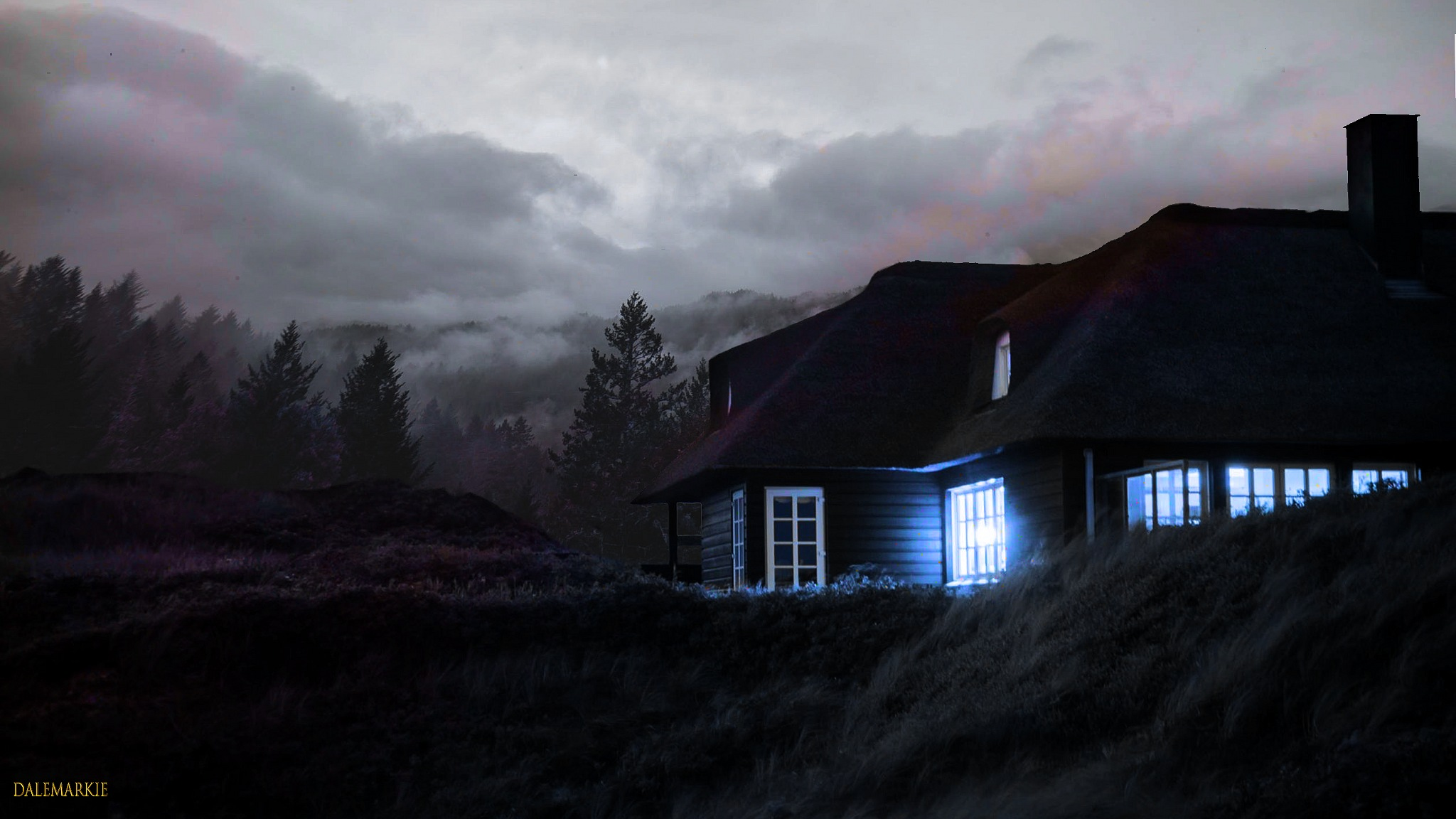 Creepy House by DaleMarkie