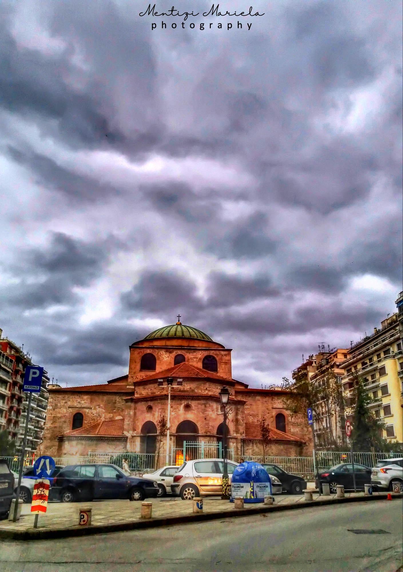 Agia Sofia, thessaloniki, Greece  by Mariela Mentizi