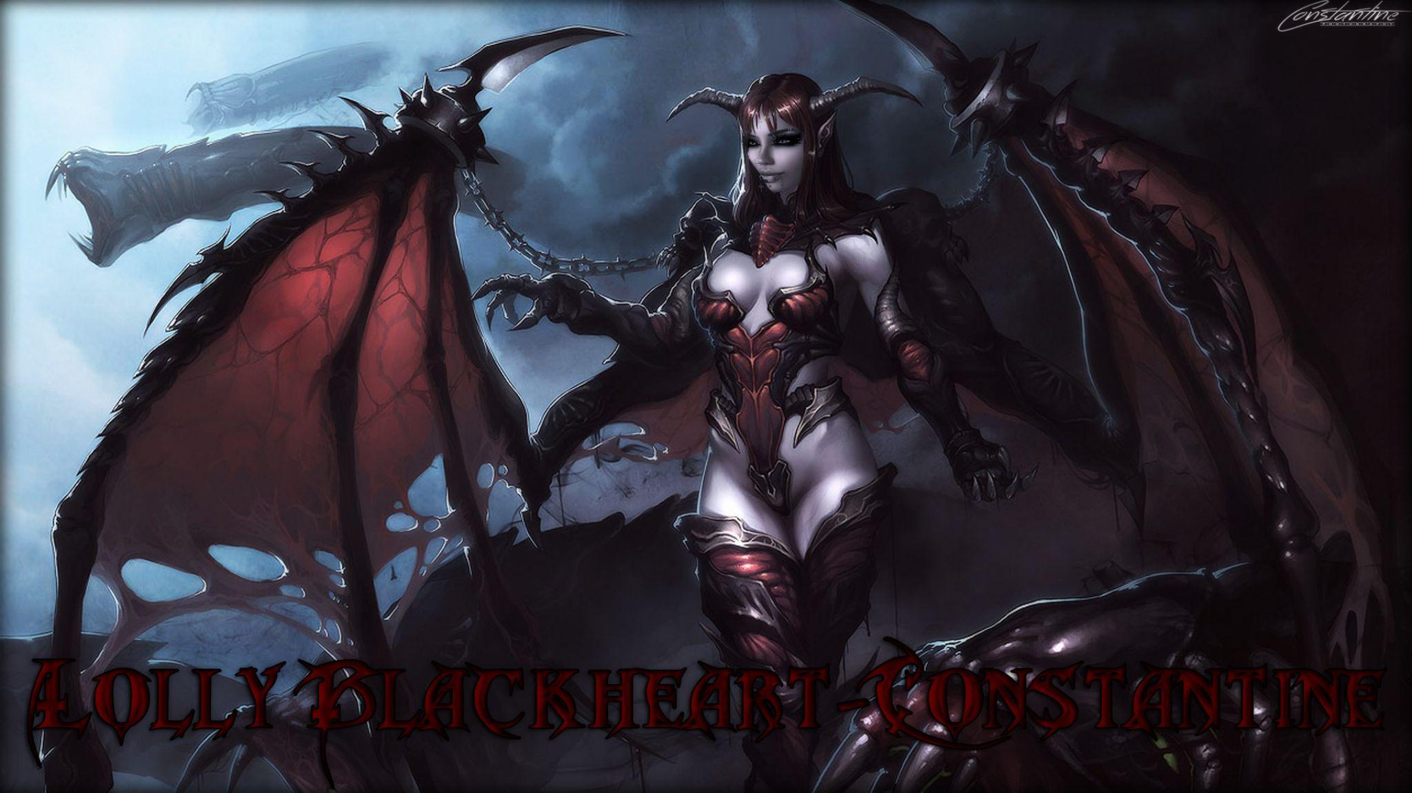 Lolly Dark Demonic by Wrath Constantine